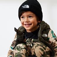 Boy in winter gear.