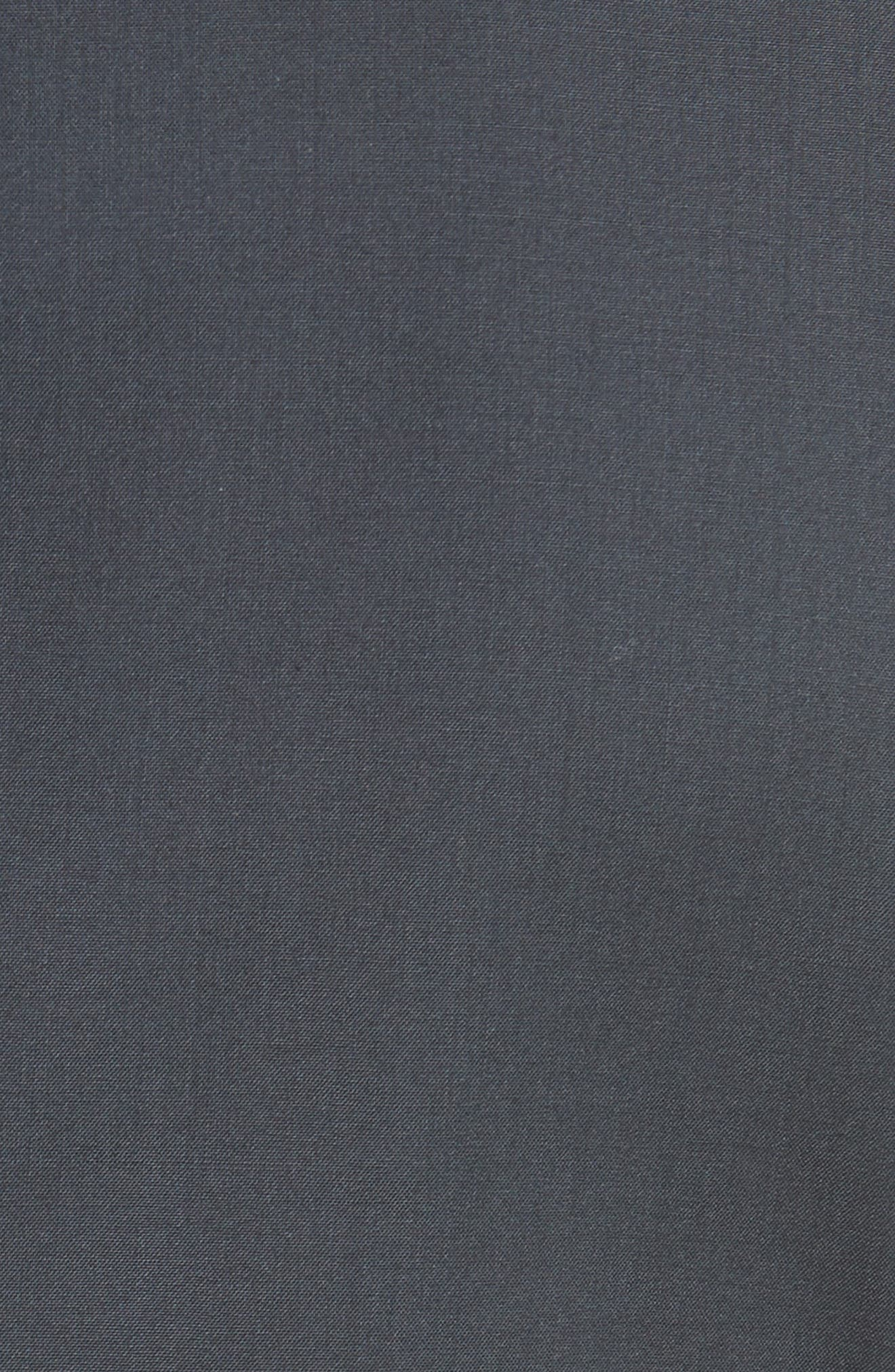 Tropical Wool Suit Jacket,                             Alternate thumbnail 6, color,                             NAVY