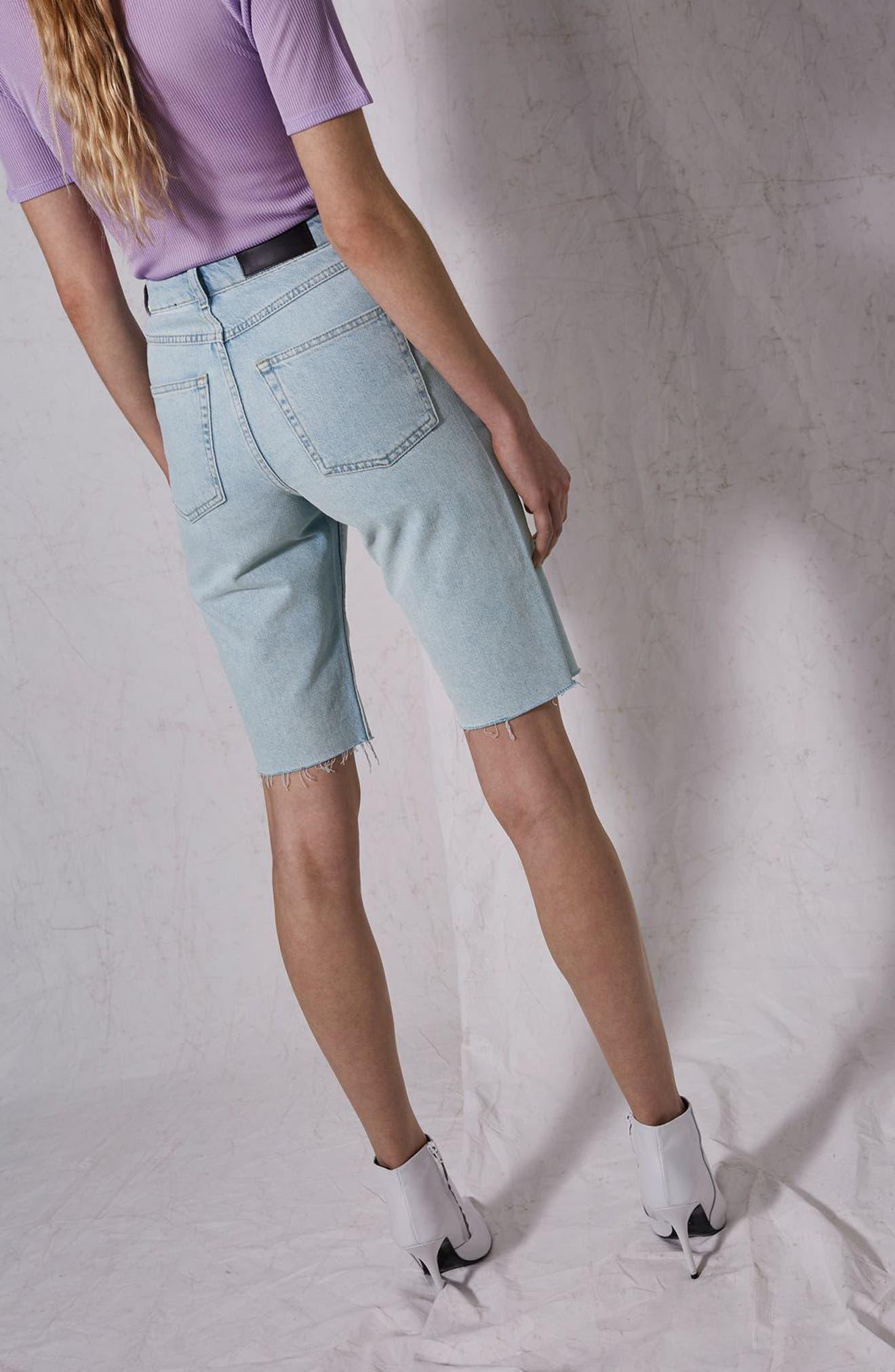 Bleach Denim Board Shorts,                             Alternate thumbnail 11, color,                             420
