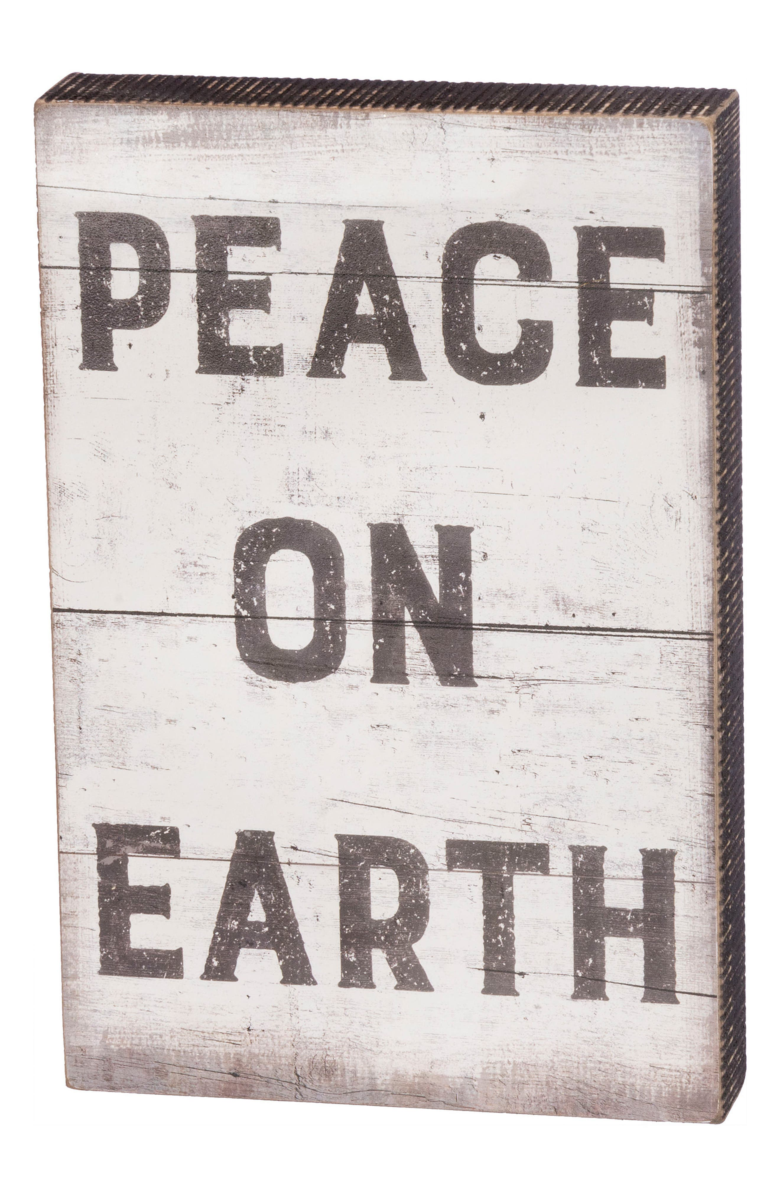Peace on Earth Box Sign,                         Main,                         color, 001