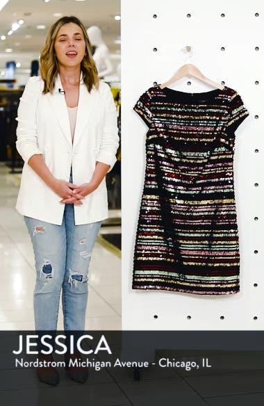 Sequin Stripe Dress, sales video thumbnail