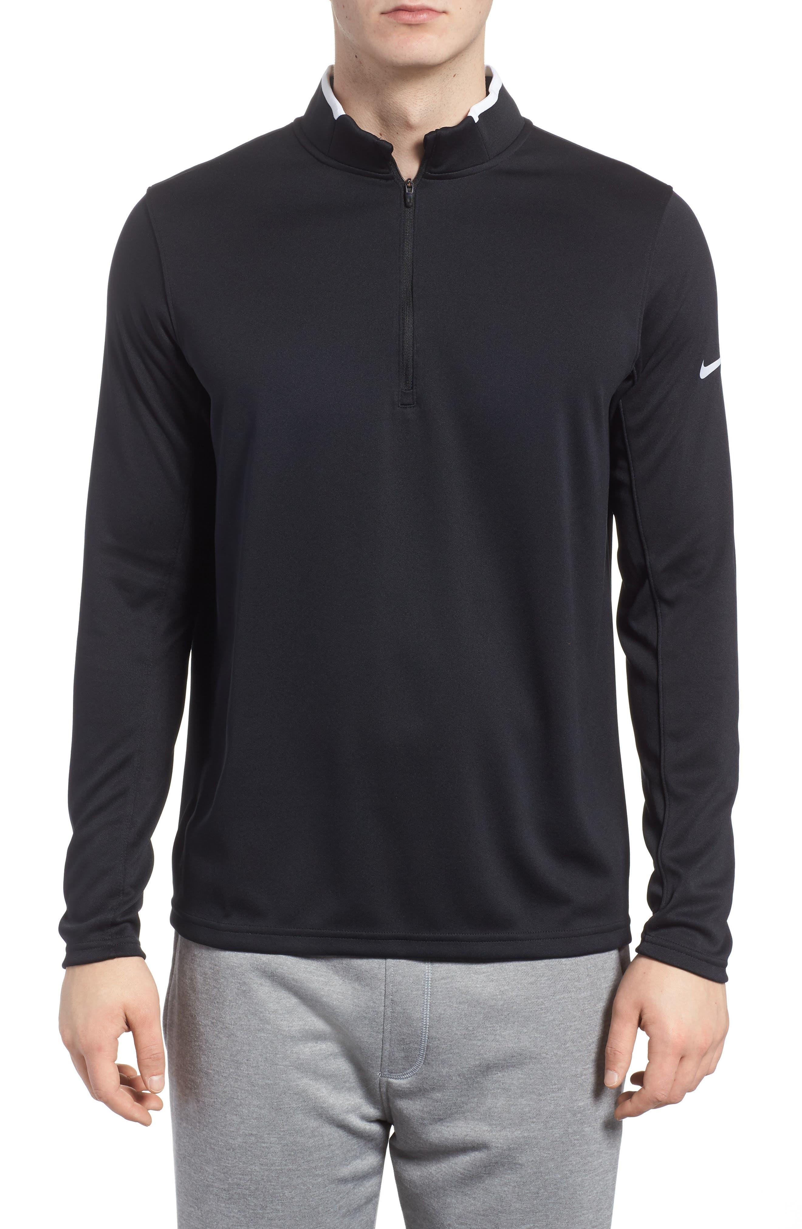 Dry Core Half Zip Pullover,                             Main thumbnail 1, color,                             010