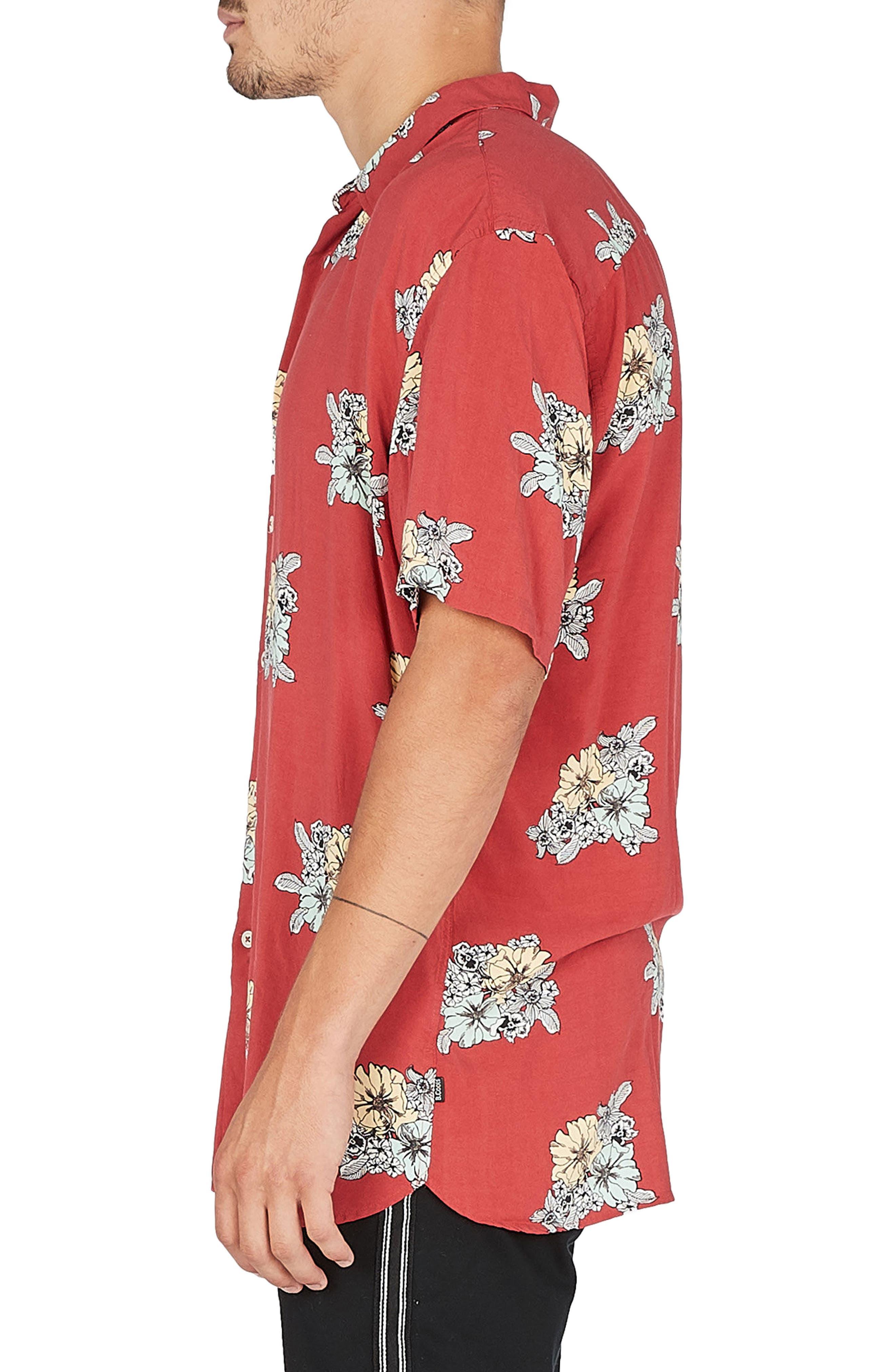 Holiday Woven Shirt,                             Alternate thumbnail 3, color,                             600