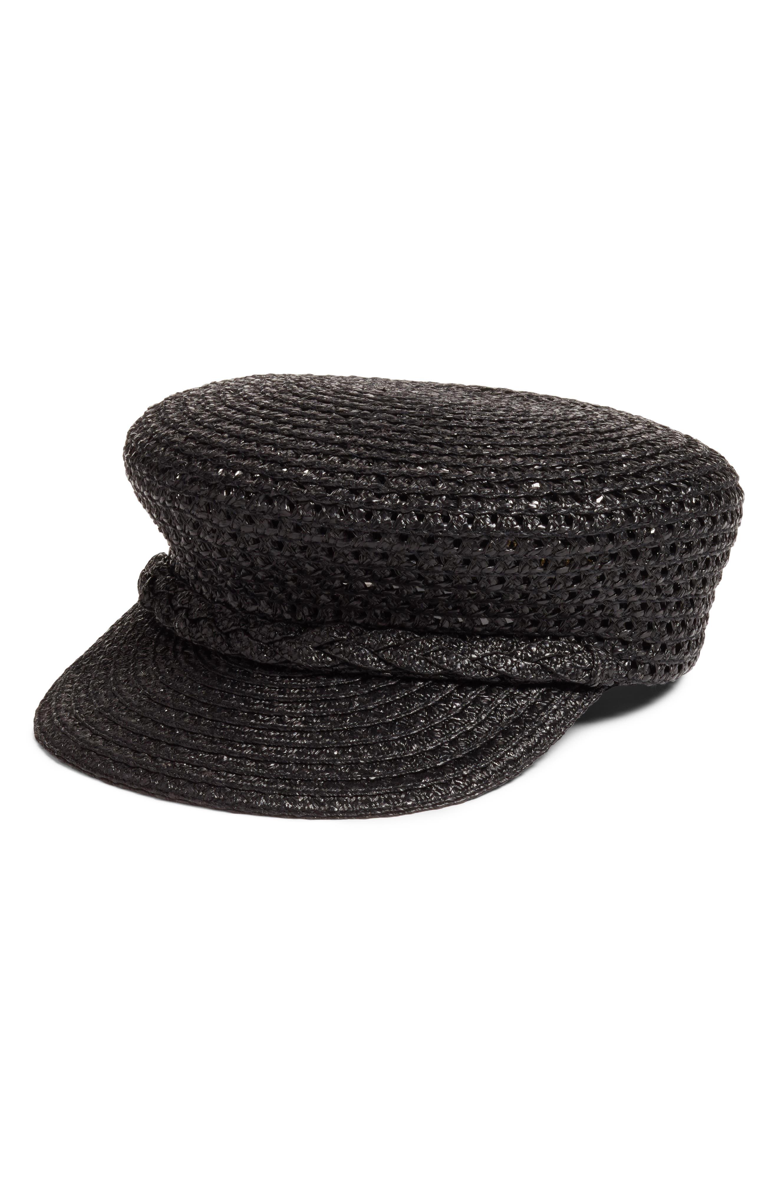 Capitan Squishee<sup>®</sup> Cap,                         Main,                         color, BLACK