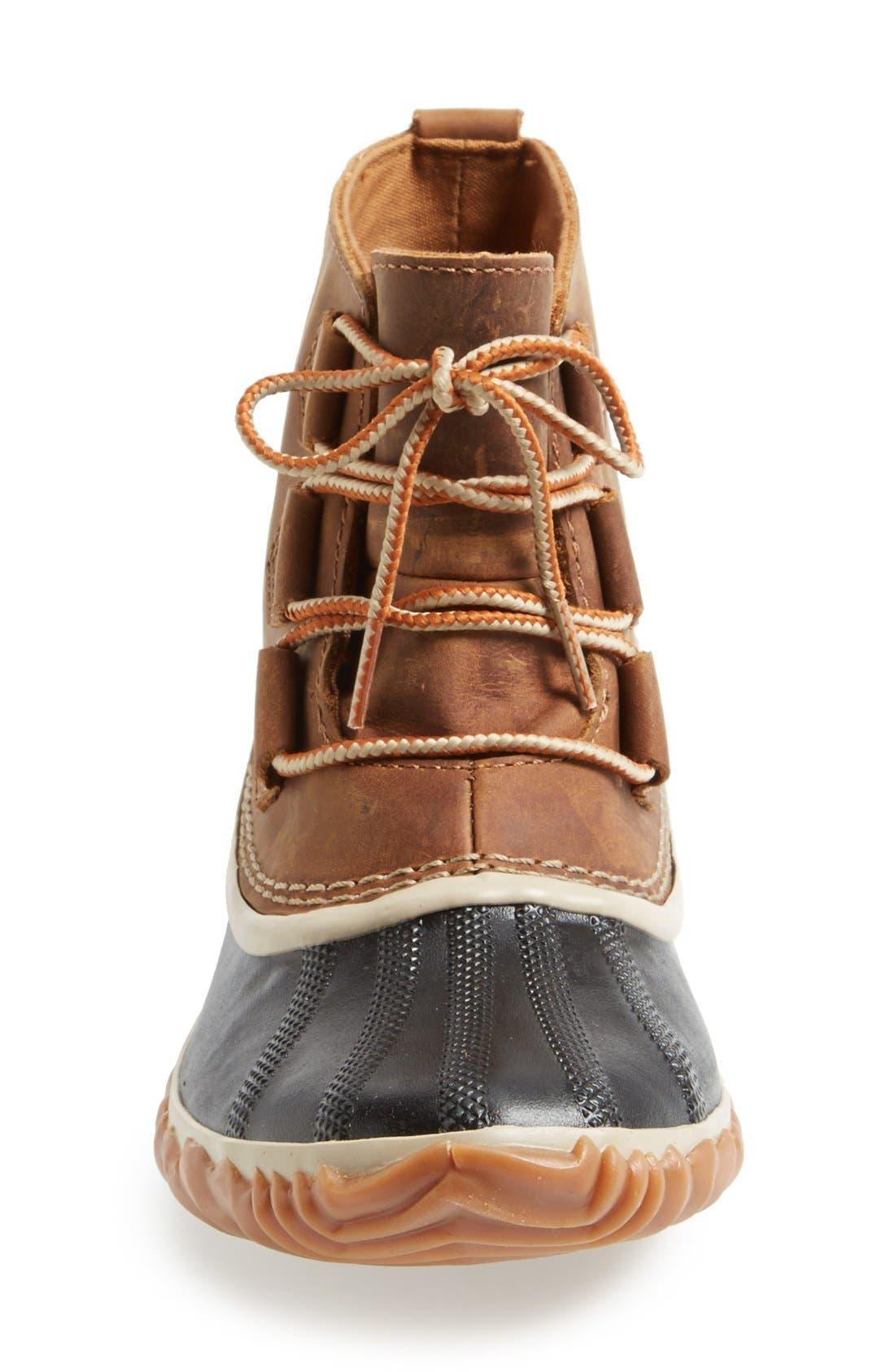 'Out N About' Leather Boot,                             Alternate thumbnail 24, color,