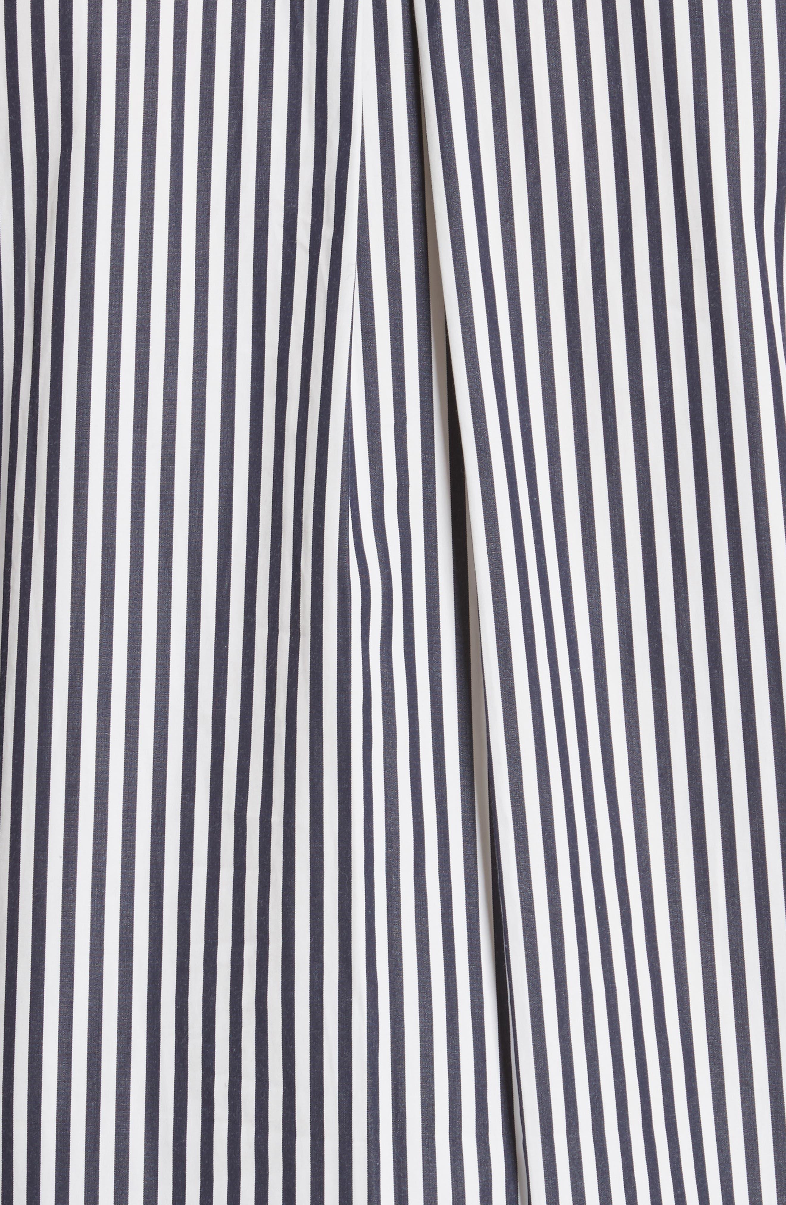 The Wallis Stripe Cotton Shirt,                             Alternate thumbnail 5, color,