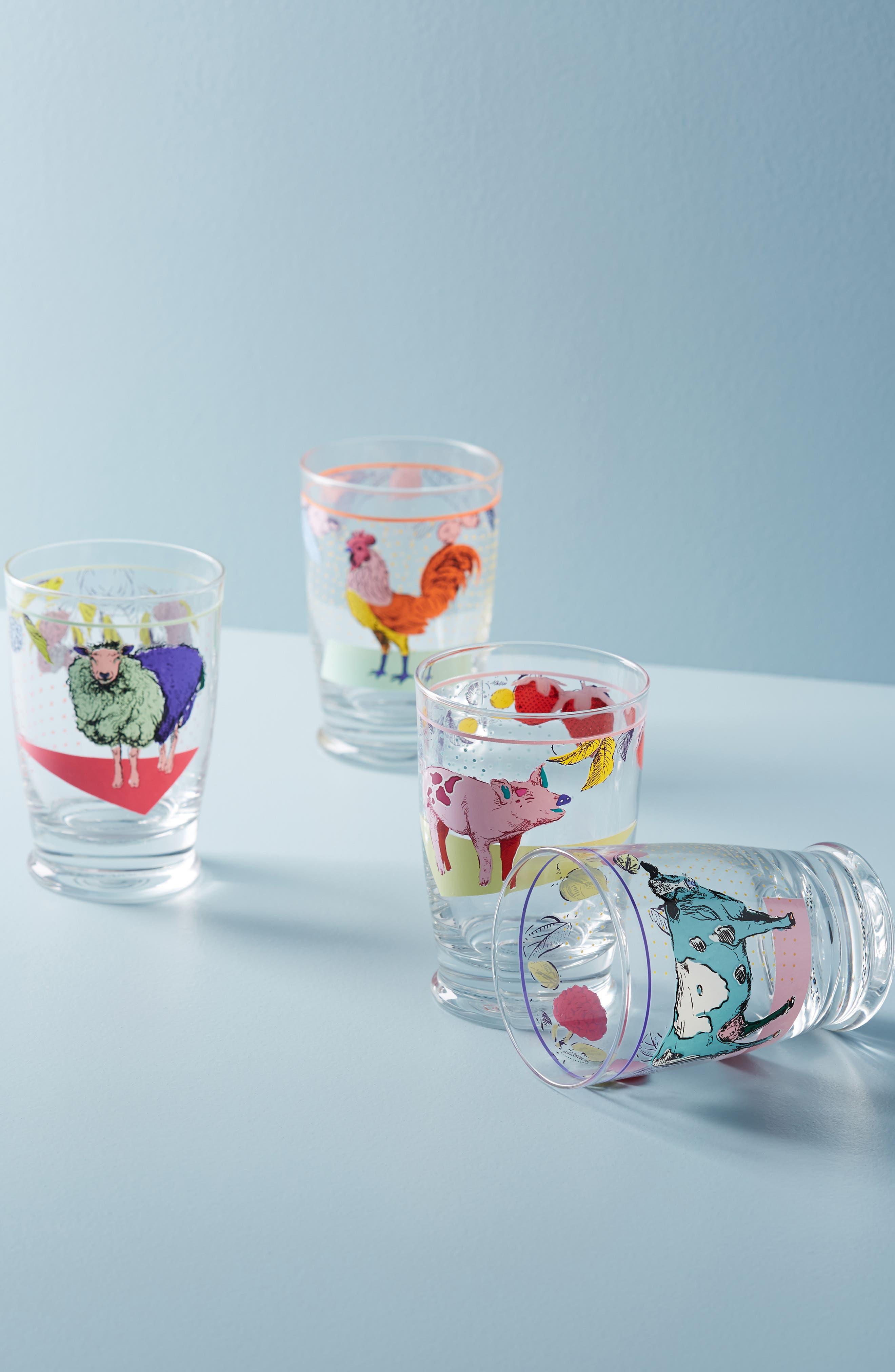 Lorena Marañon Juice Glass,                             Main thumbnail 1, color,                             COW