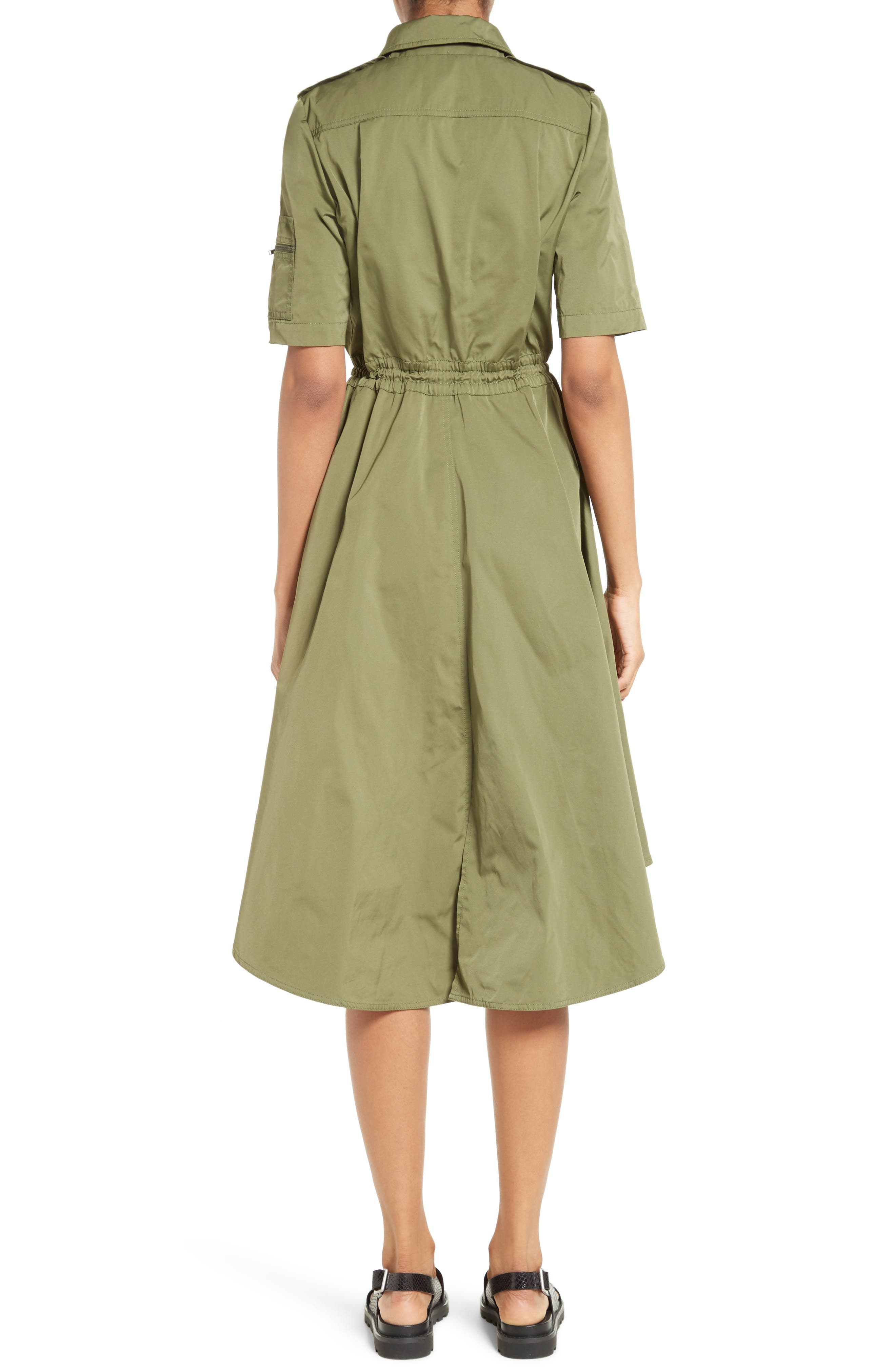 Tech Taffeta Shirtdress,                             Alternate thumbnail 2, color,                             310