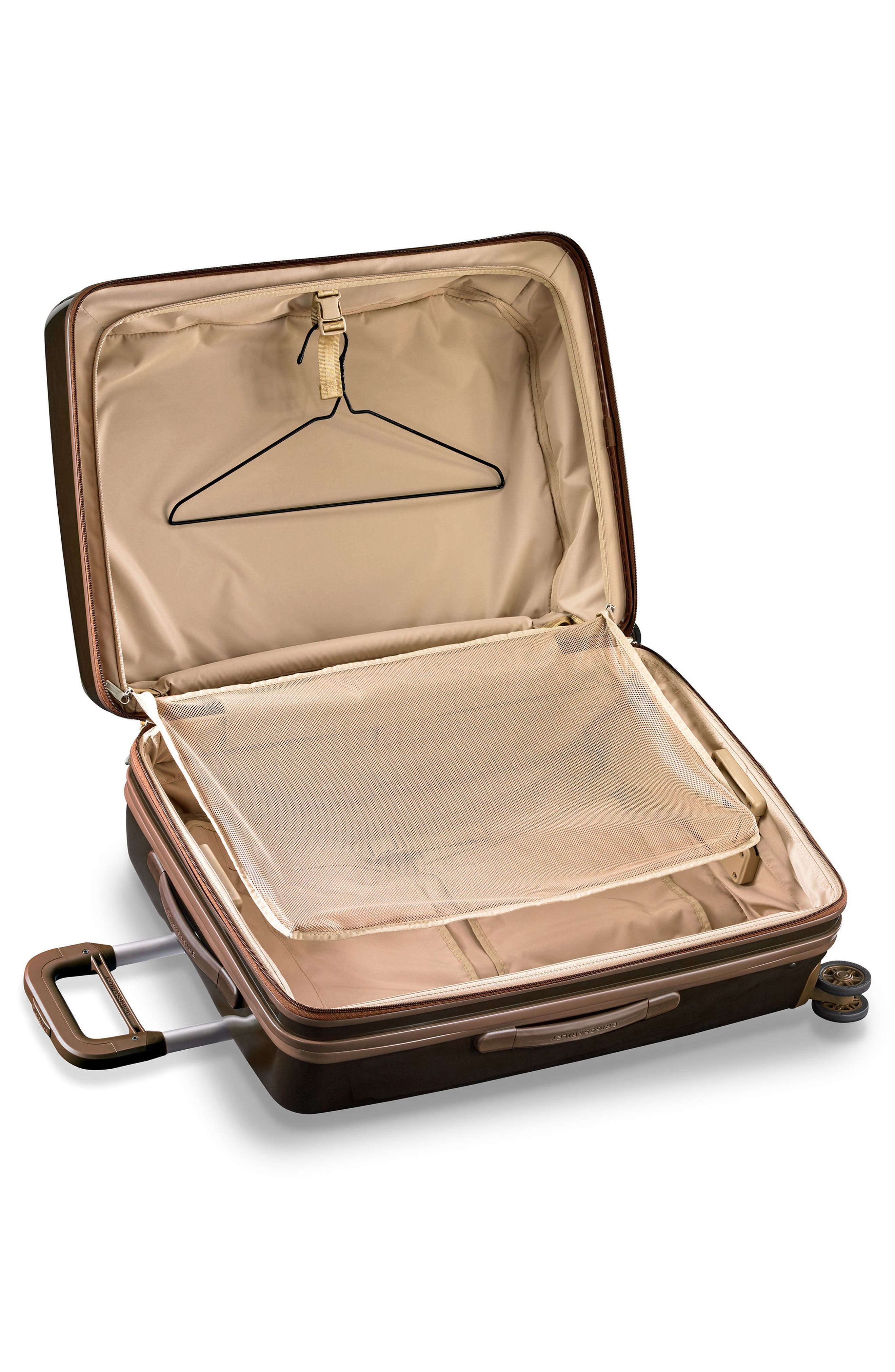 Sympatico 27-Inch Expandable Wheeled Packing Case,                             Alternate thumbnail 9, color,                             BRONZE