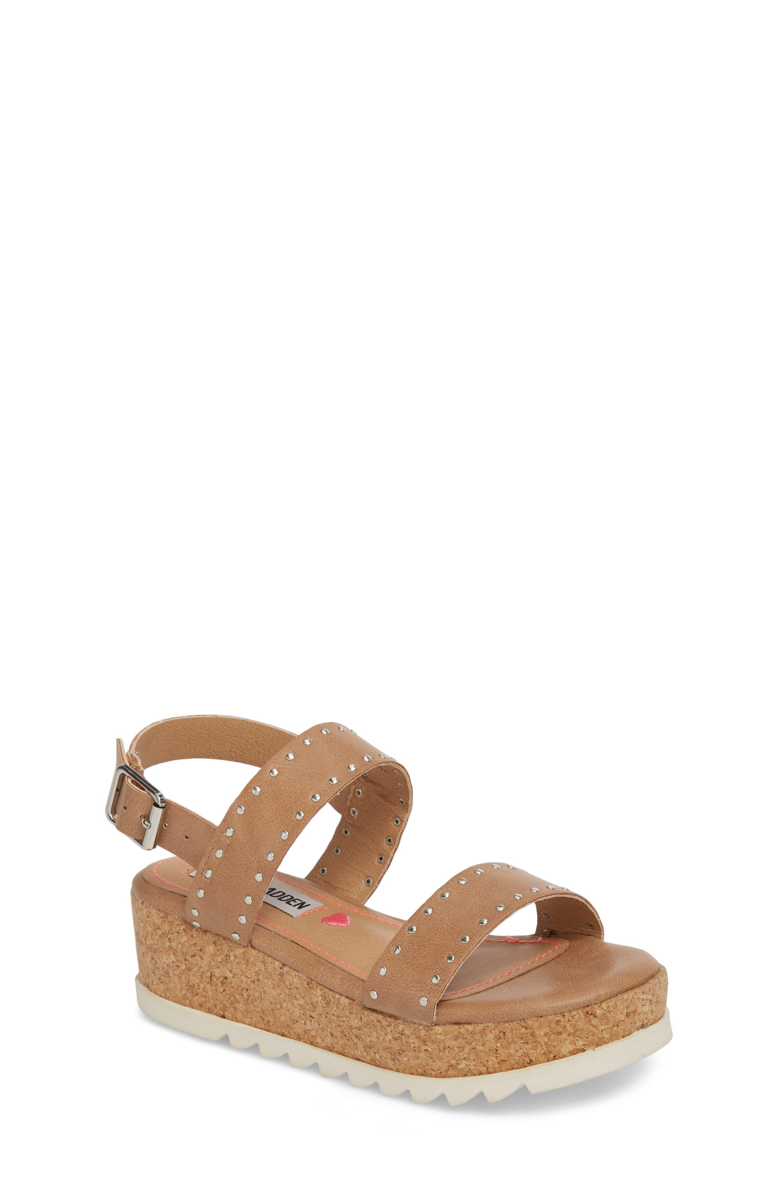 STEVE MADDEN,                             JKRISTIE Platform Sandal,                             Main thumbnail 1, color,                             200