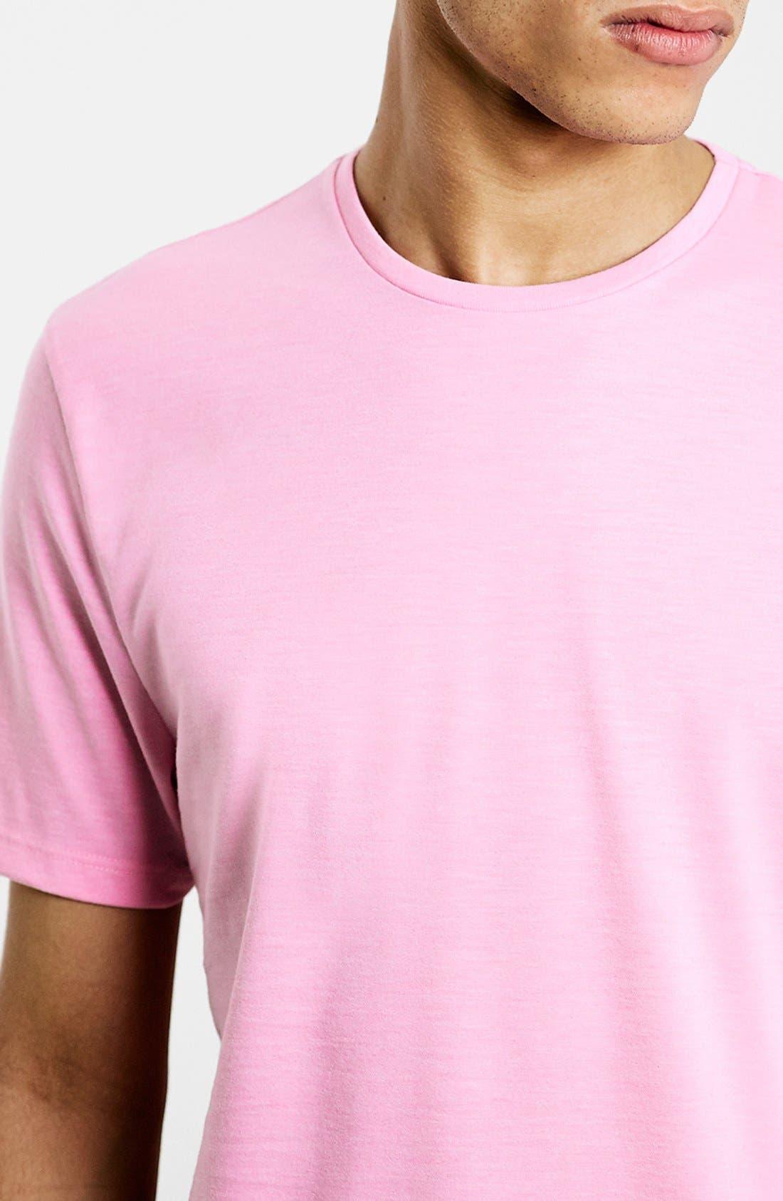 Slim Fit Crewneck T-Shirt,                             Alternate thumbnail 370, color,