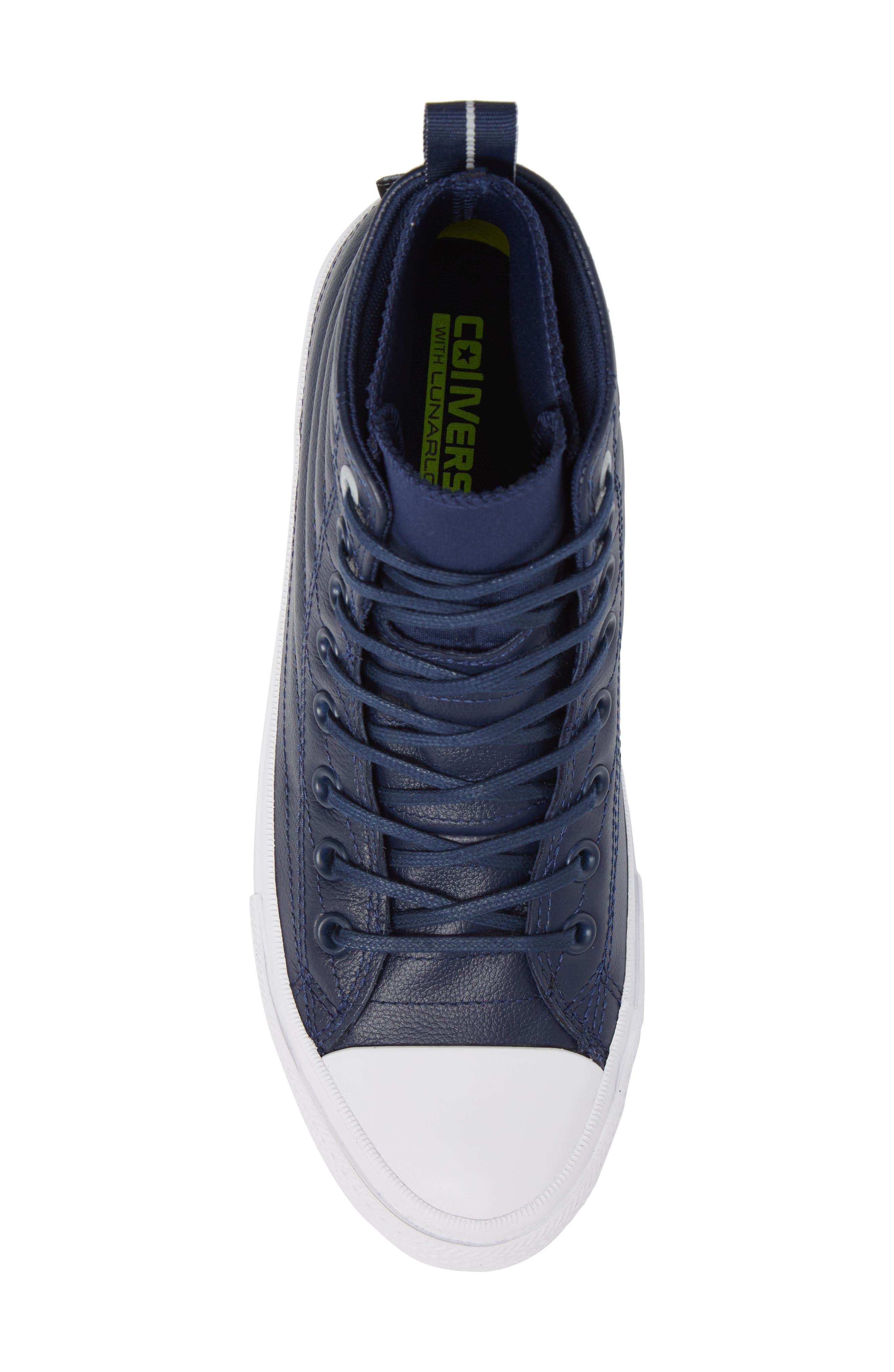 Chuck Taylor<sup>®</sup> All Star<sup>®</sup> Waterproof Quilted Sneaker,                             Alternate thumbnail 10, color,