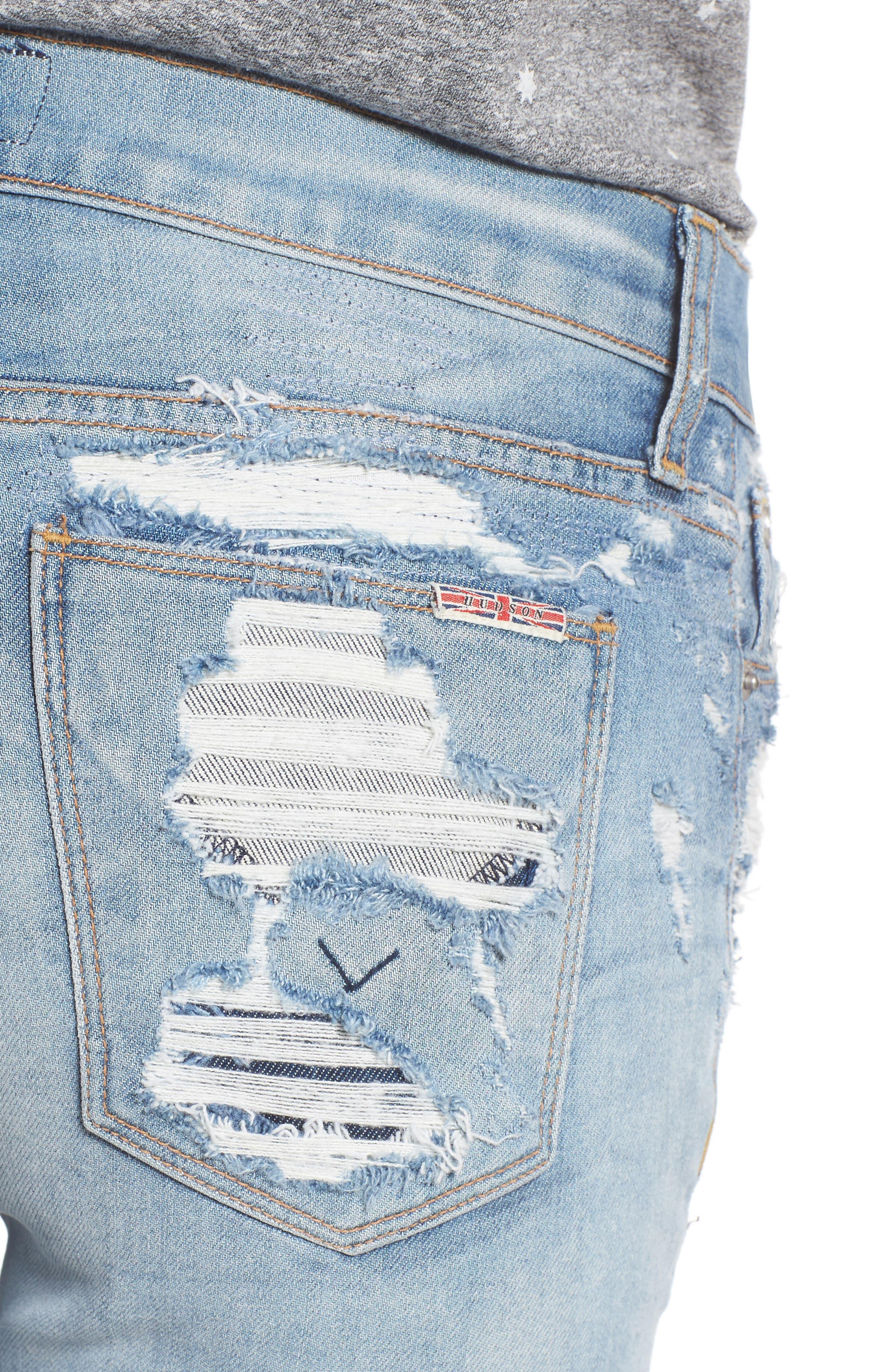 Nico Shredded Skinny Jeans,                             Alternate thumbnail 11, color,