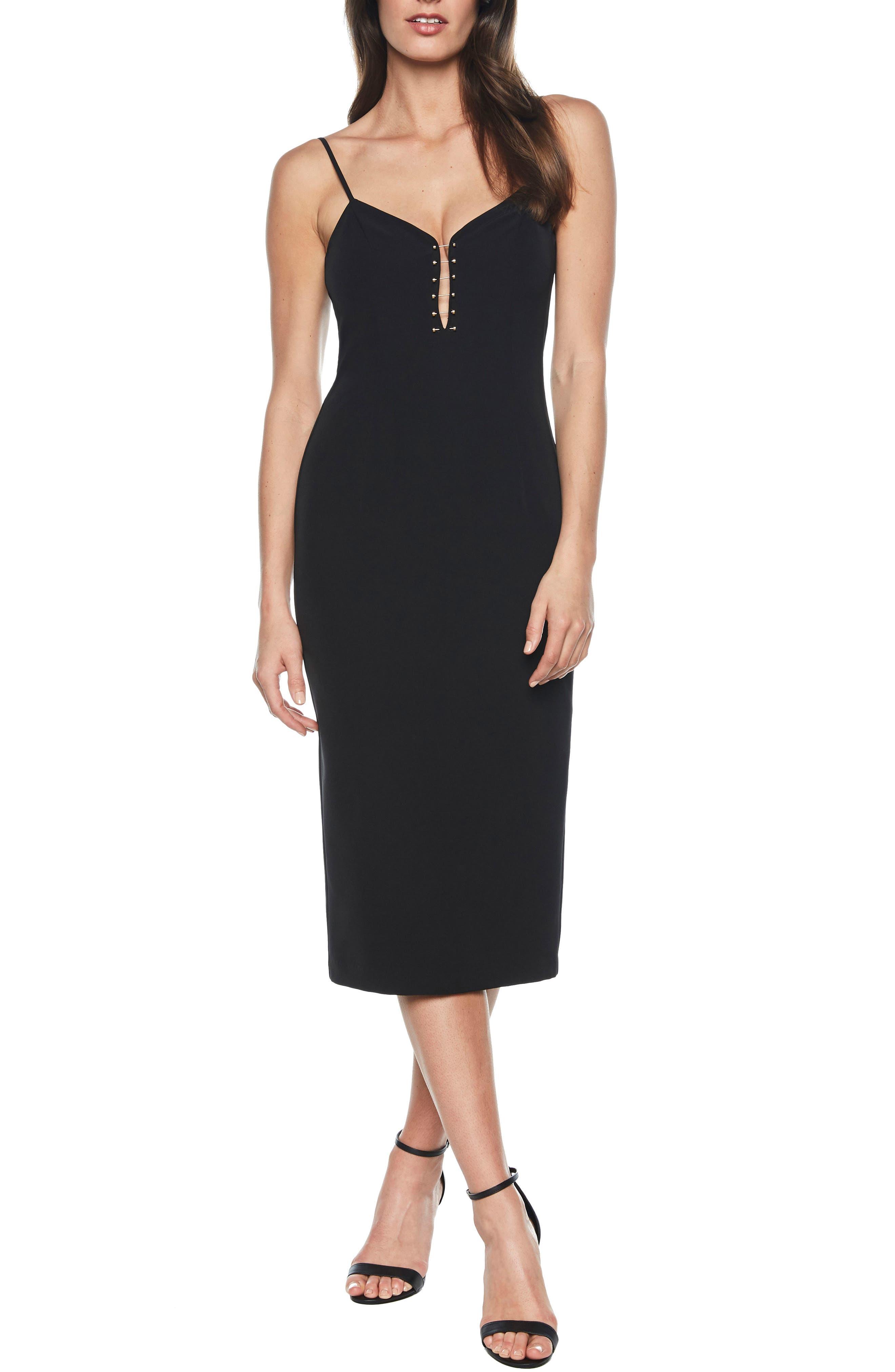 Emilia Bar Midi Dress, Main, color, 001