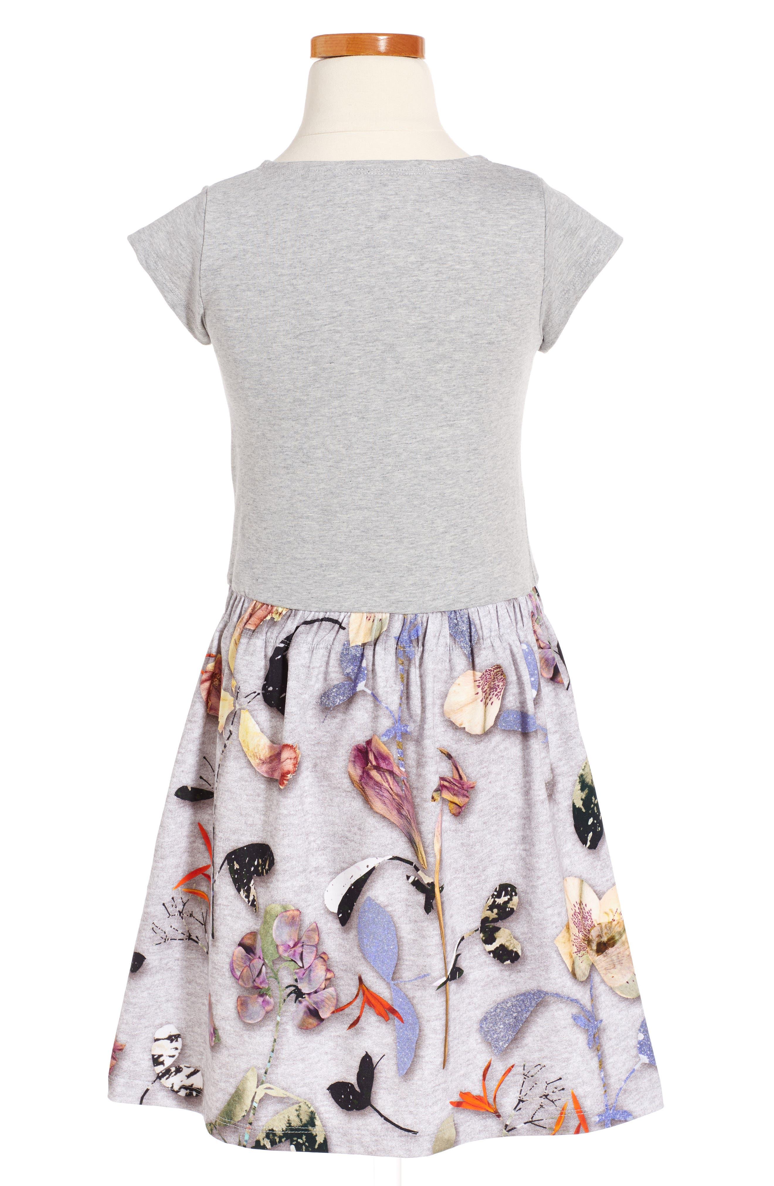 Carla Print Jersey Dress,                             Main thumbnail 2, color,