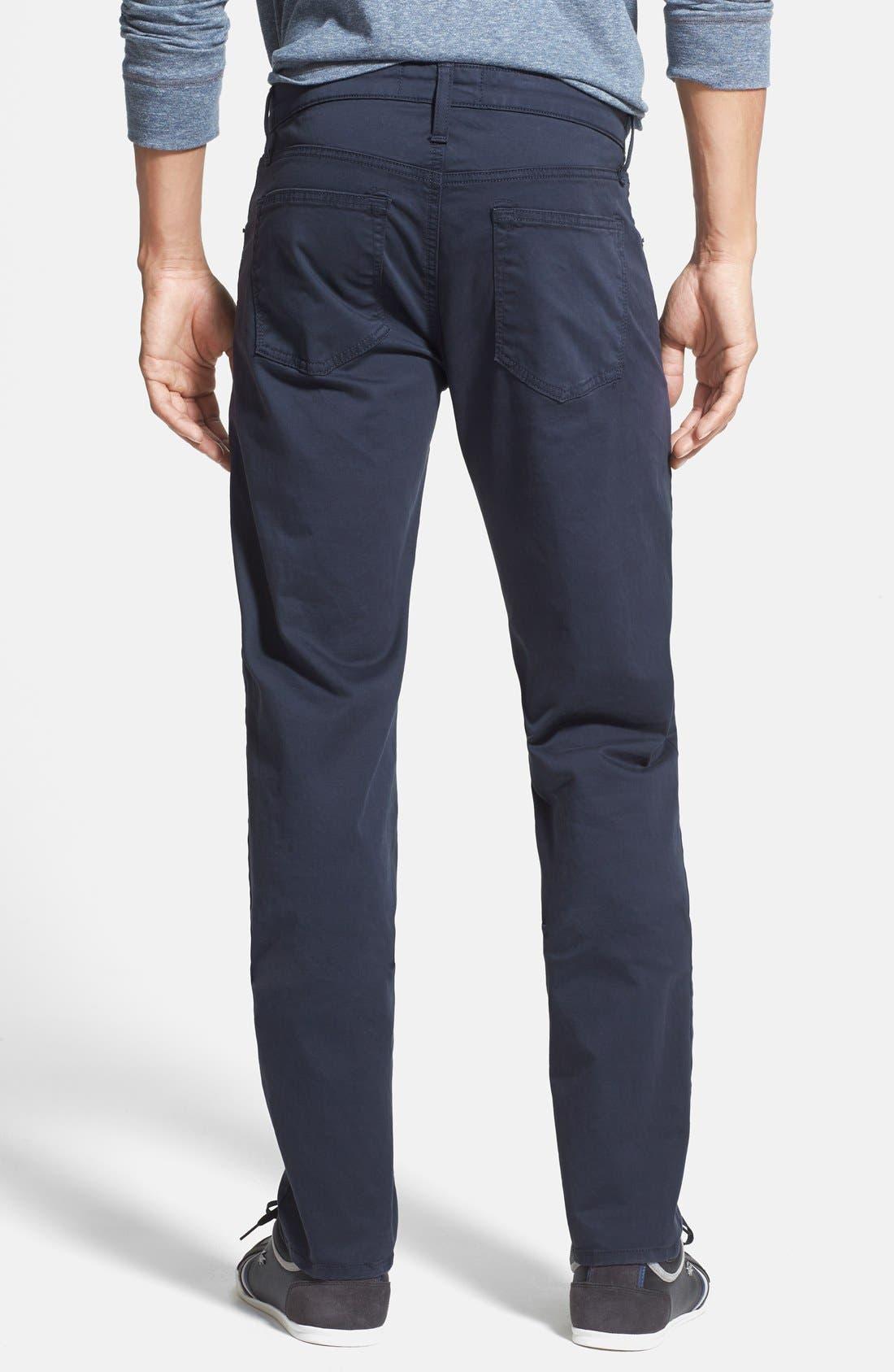 'Kane' Slim Fit Cotton Twill Pants,                             Alternate thumbnail 57, color,