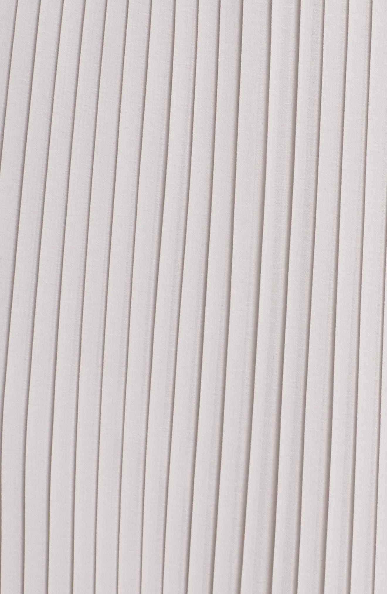 SAM EDELMAN,                             Pleated Midi Dress,                             Alternate thumbnail 6, color,                             077