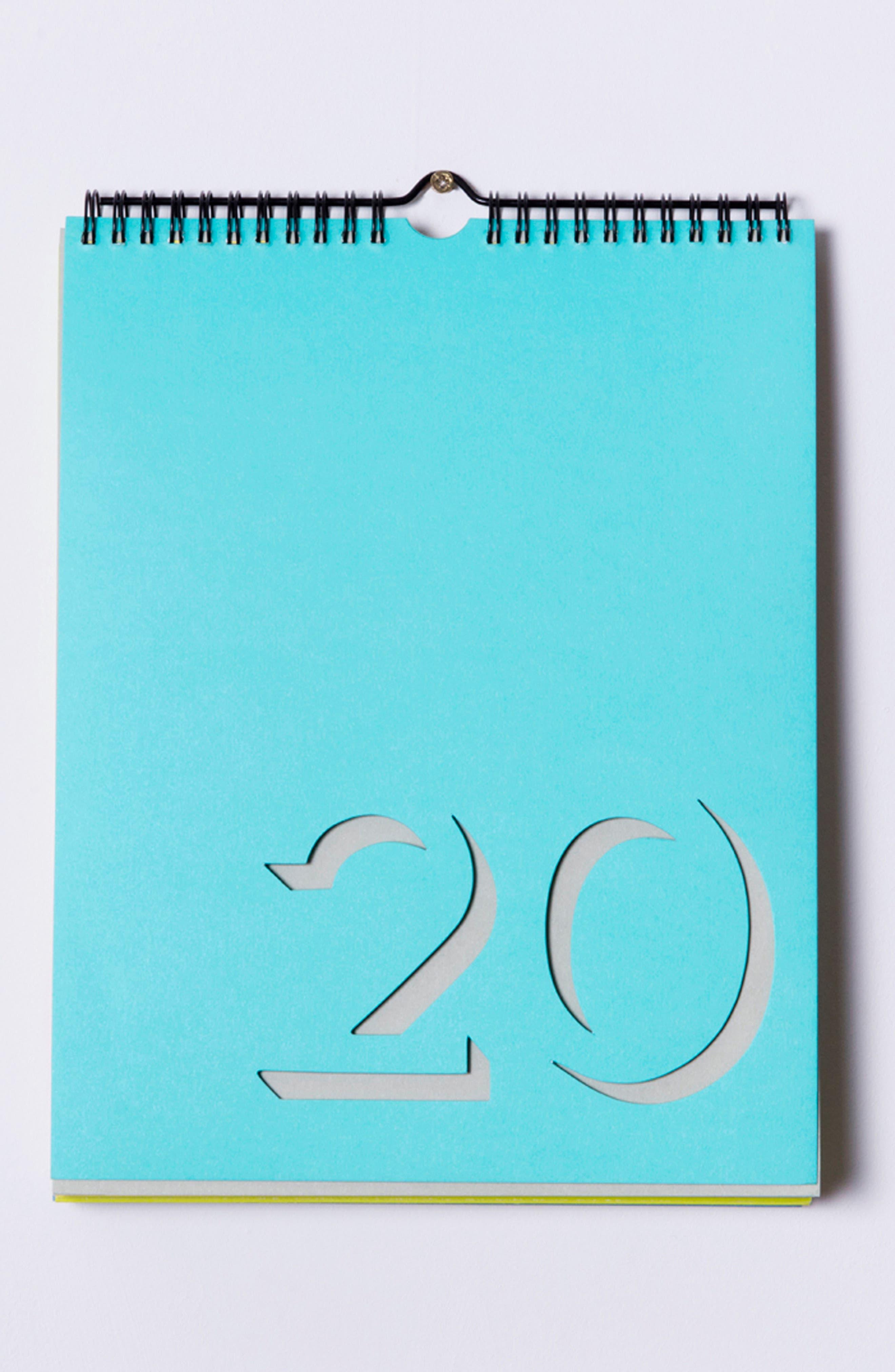 Flip Perpetual Calendar,                             Alternate thumbnail 4, color,                             MULTI