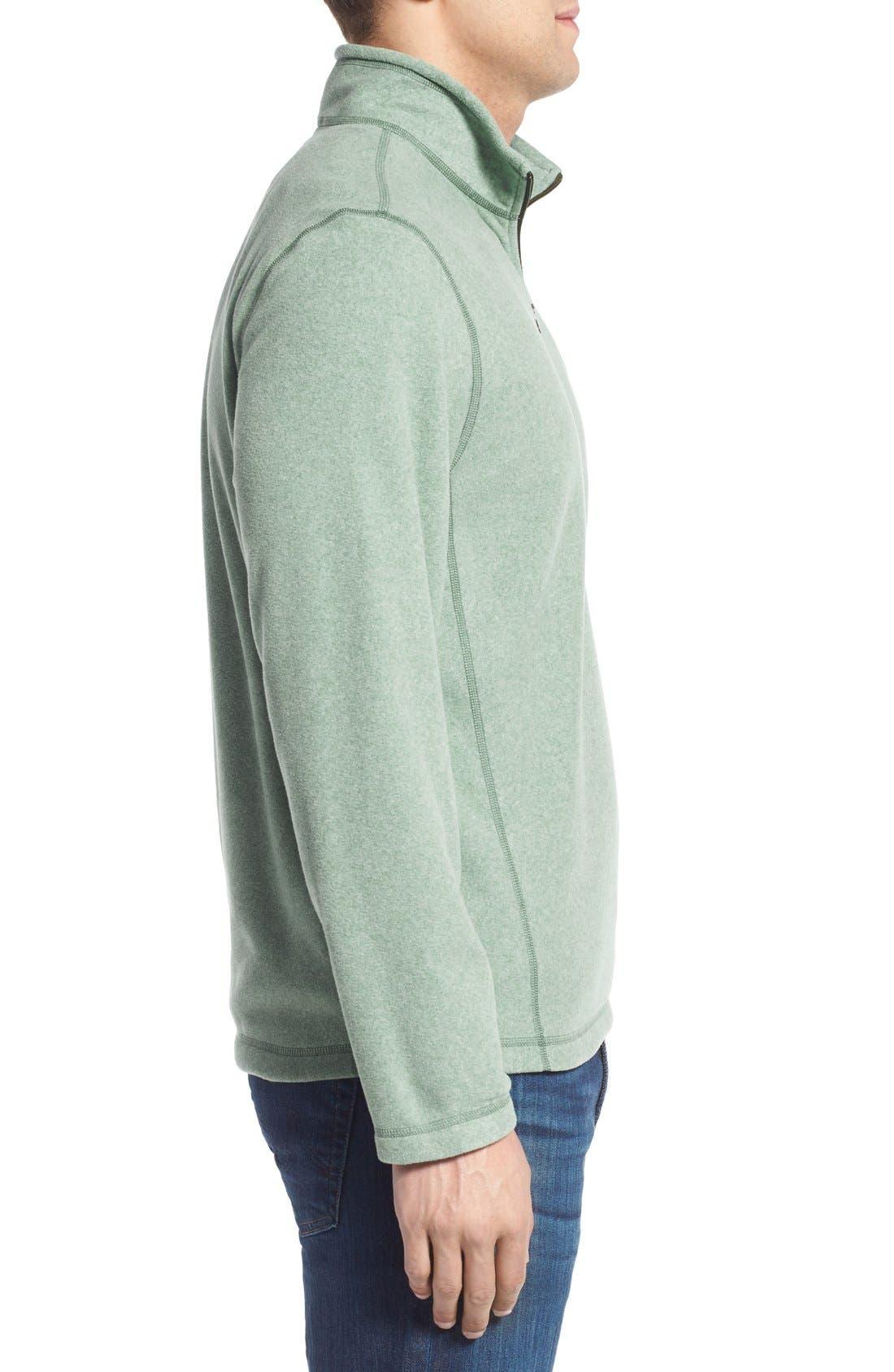 'TKA 100 Glacier' Quarter Zip Fleece Pullover,                             Alternate thumbnail 120, color,