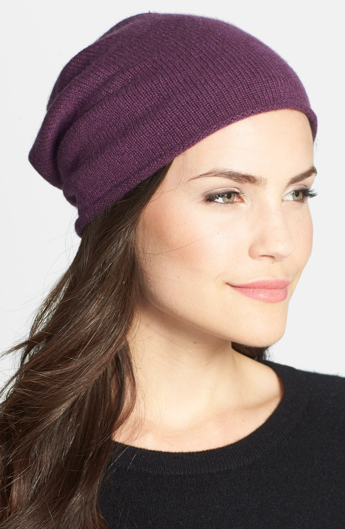 Slouchy Cashmere Beanie,                             Main thumbnail 15, color,