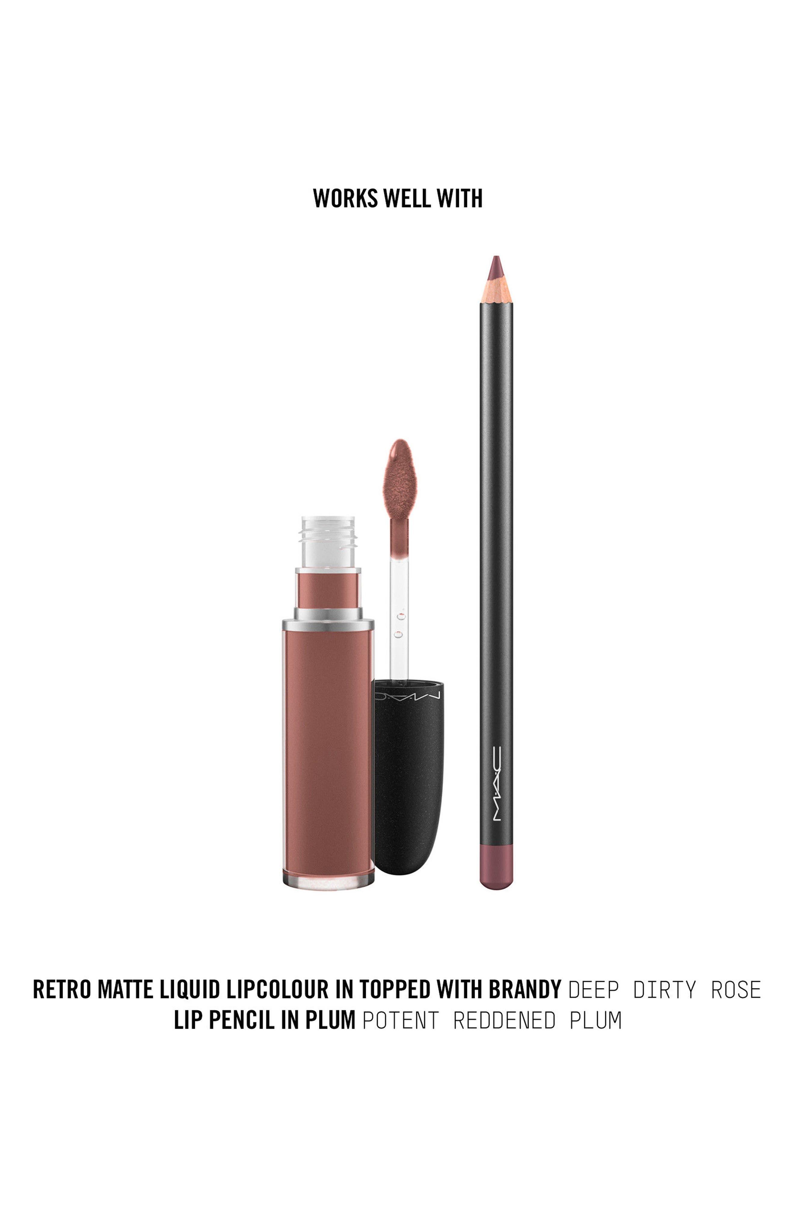 MAC Retro Matte Liquid Lipcolor,                             Alternate thumbnail 184, color,