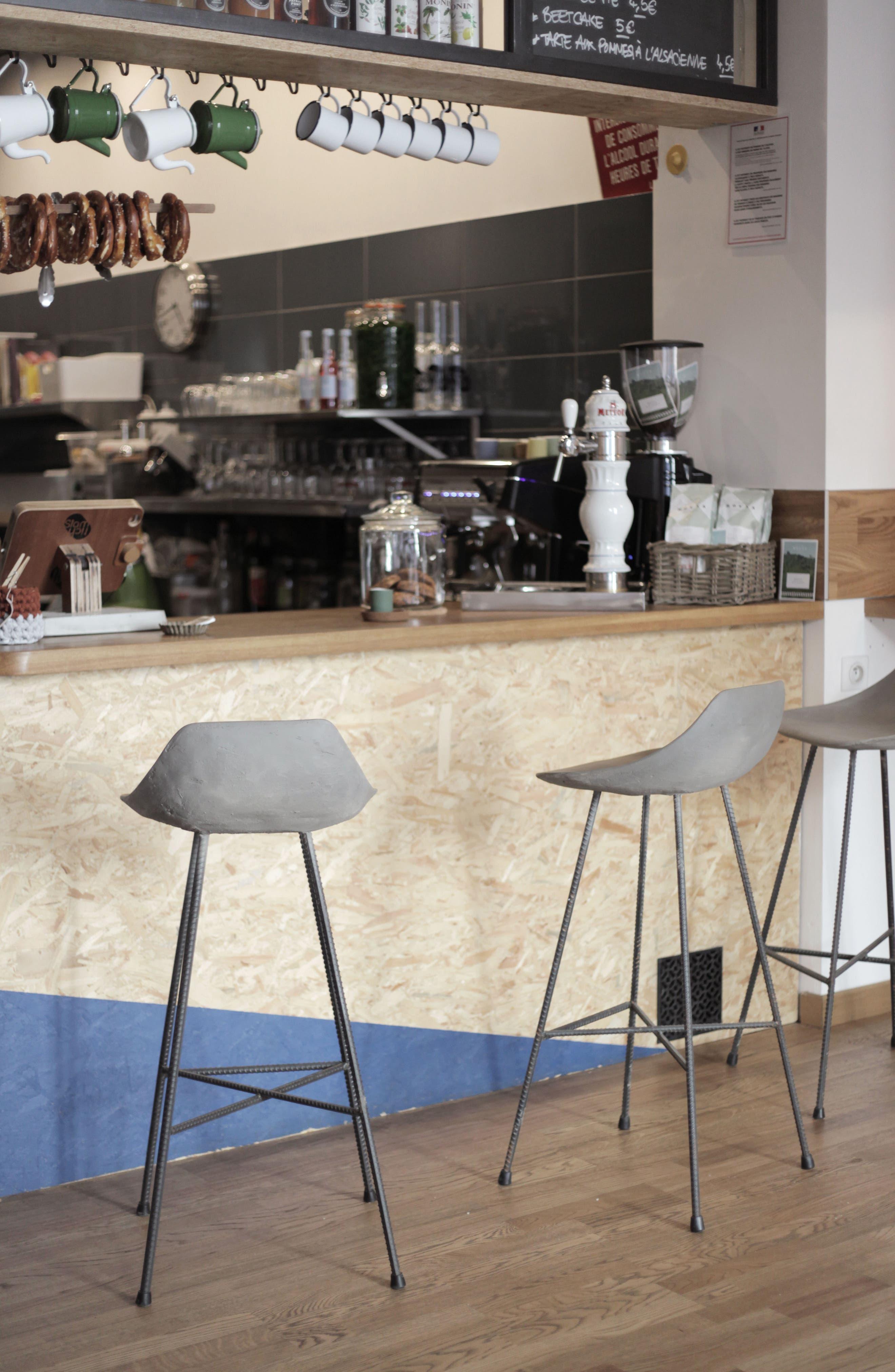LYON BÉTON,                             Hauteville Bar Chair,                             Alternate thumbnail 9, color,                             020