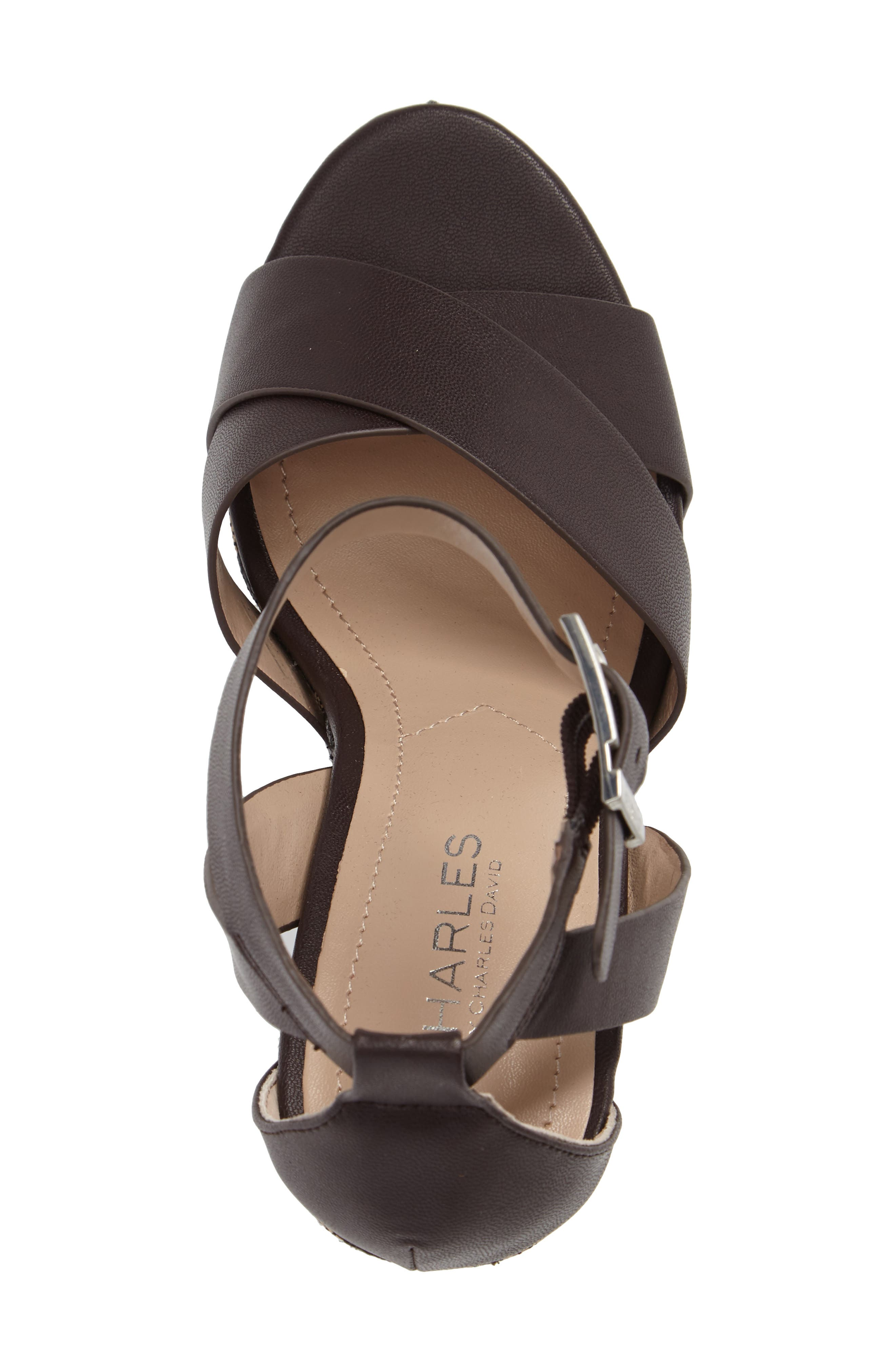 Amsterdam Platform Wedge Sandal,                             Alternate thumbnail 8, color,