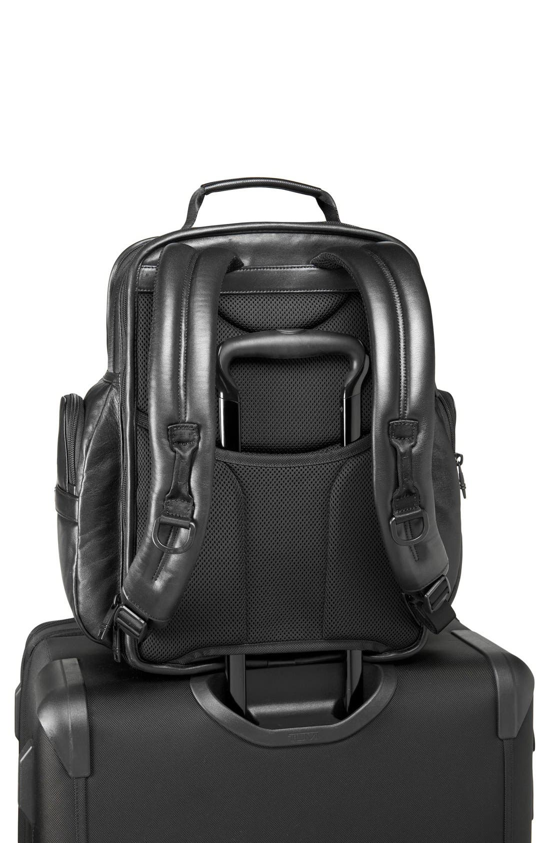 Alpha 2 T-Pass<sup>®</sup> Leather Brief Pack<sup>®</sup>,                             Alternate thumbnail 6, color,                             007