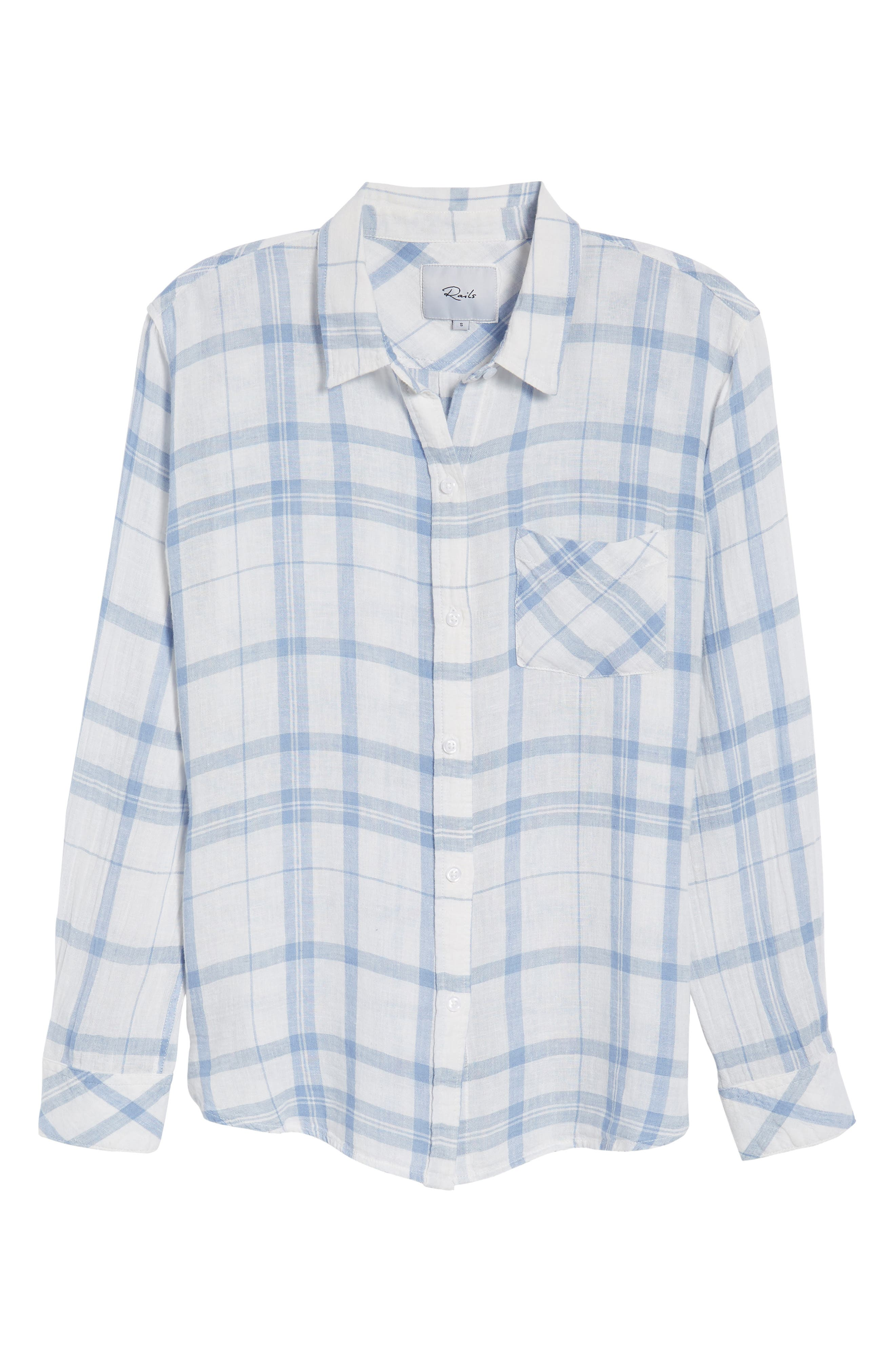 Charli Shirt,                             Alternate thumbnail 7, color,                             TRUE BLUE WHITE