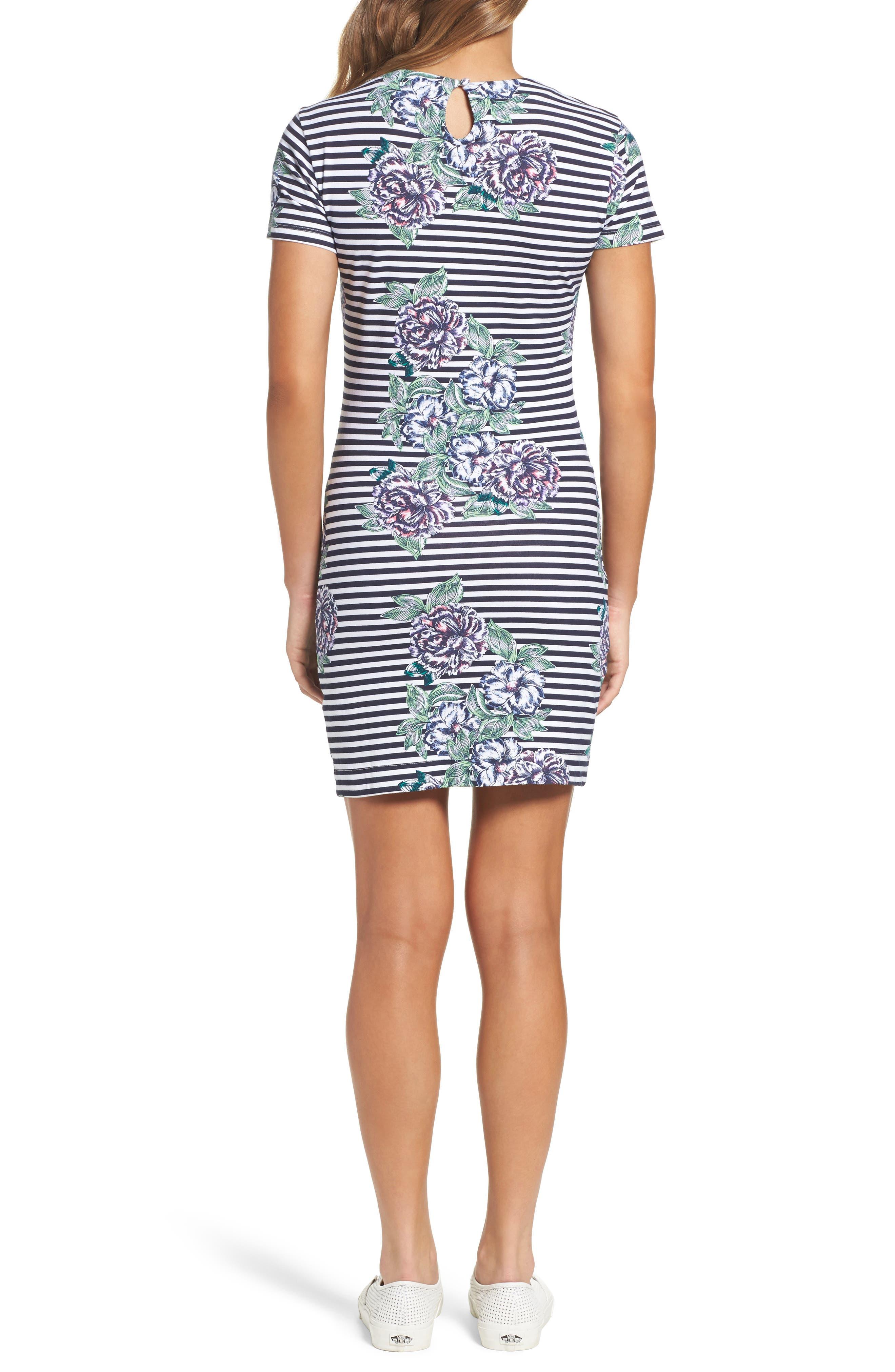 Bonita Trail T-Shirt Dress,                             Alternate thumbnail 2, color,                             432