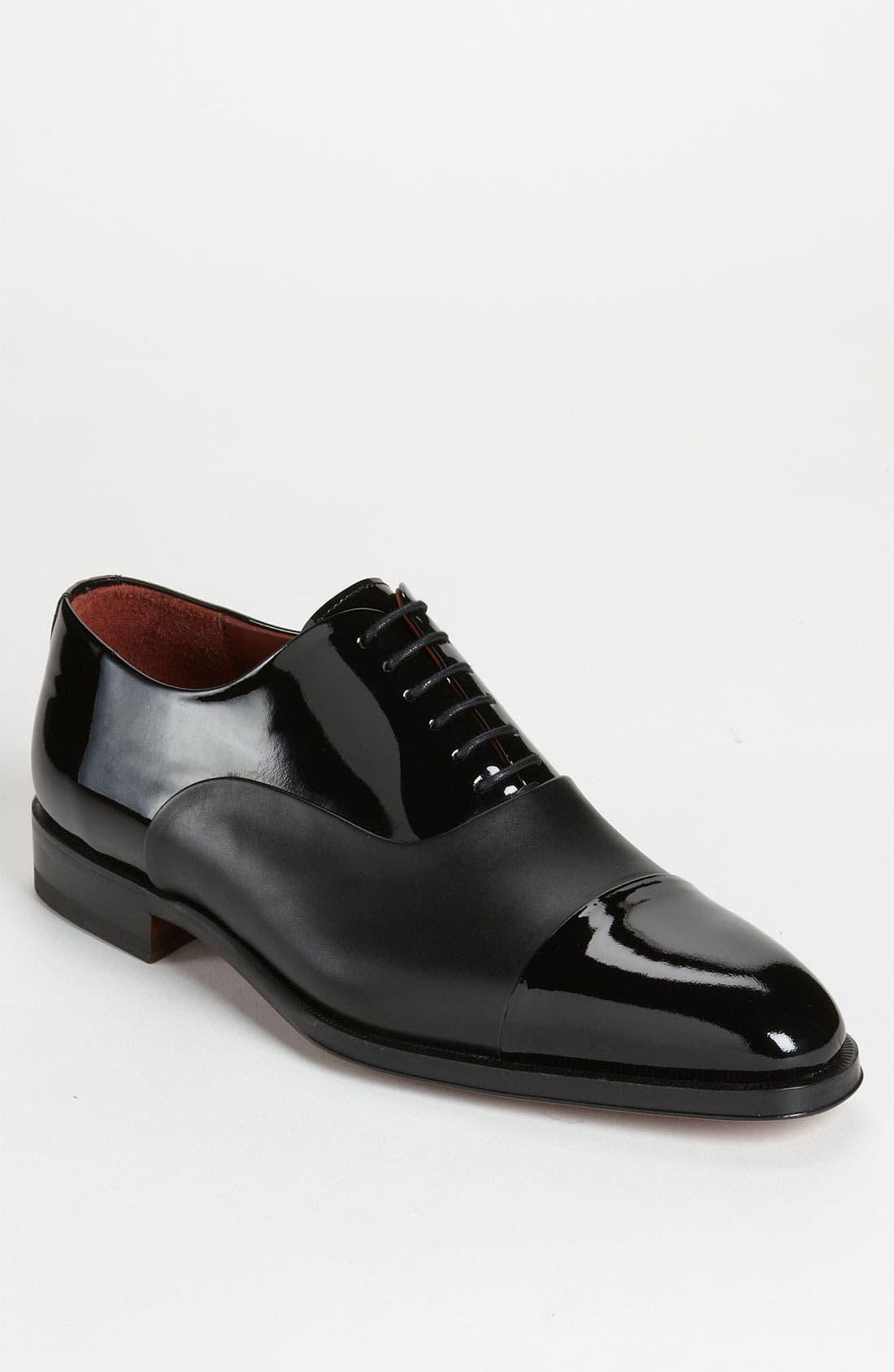 Cesar Cap Toe Oxford,                         Main,                         color, BLACK