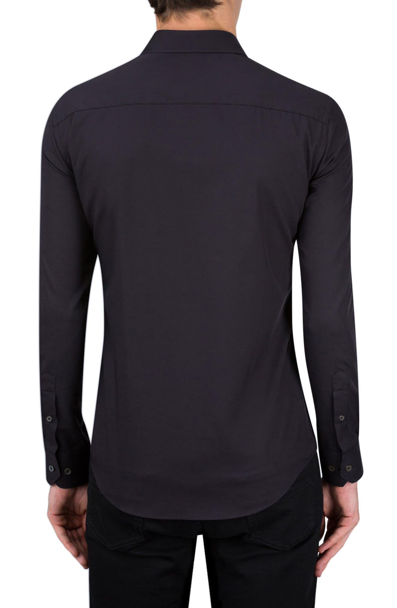 Classic Fit Sport Shirt,                             Alternate thumbnail 2, color,                             001