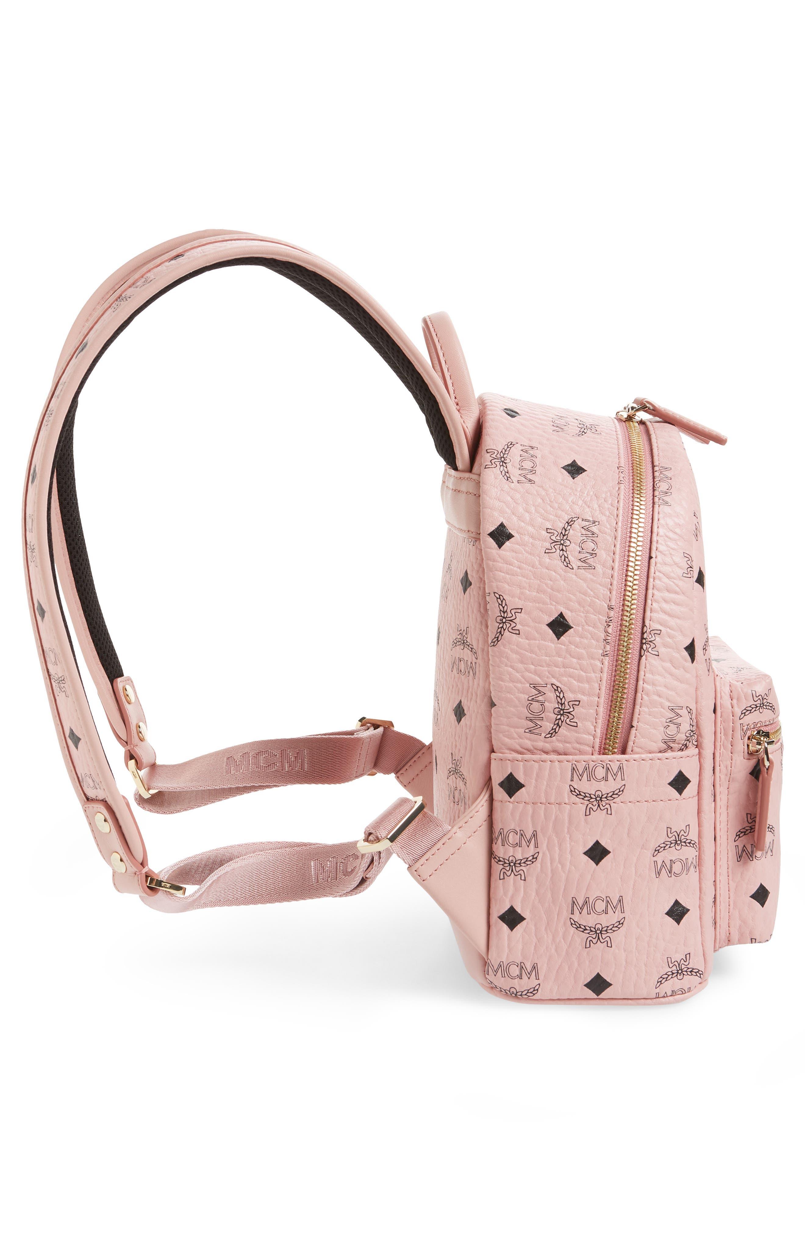 Rabbit Mini Coated Canvas Backpack,                             Alternate thumbnail 5, color,                             650