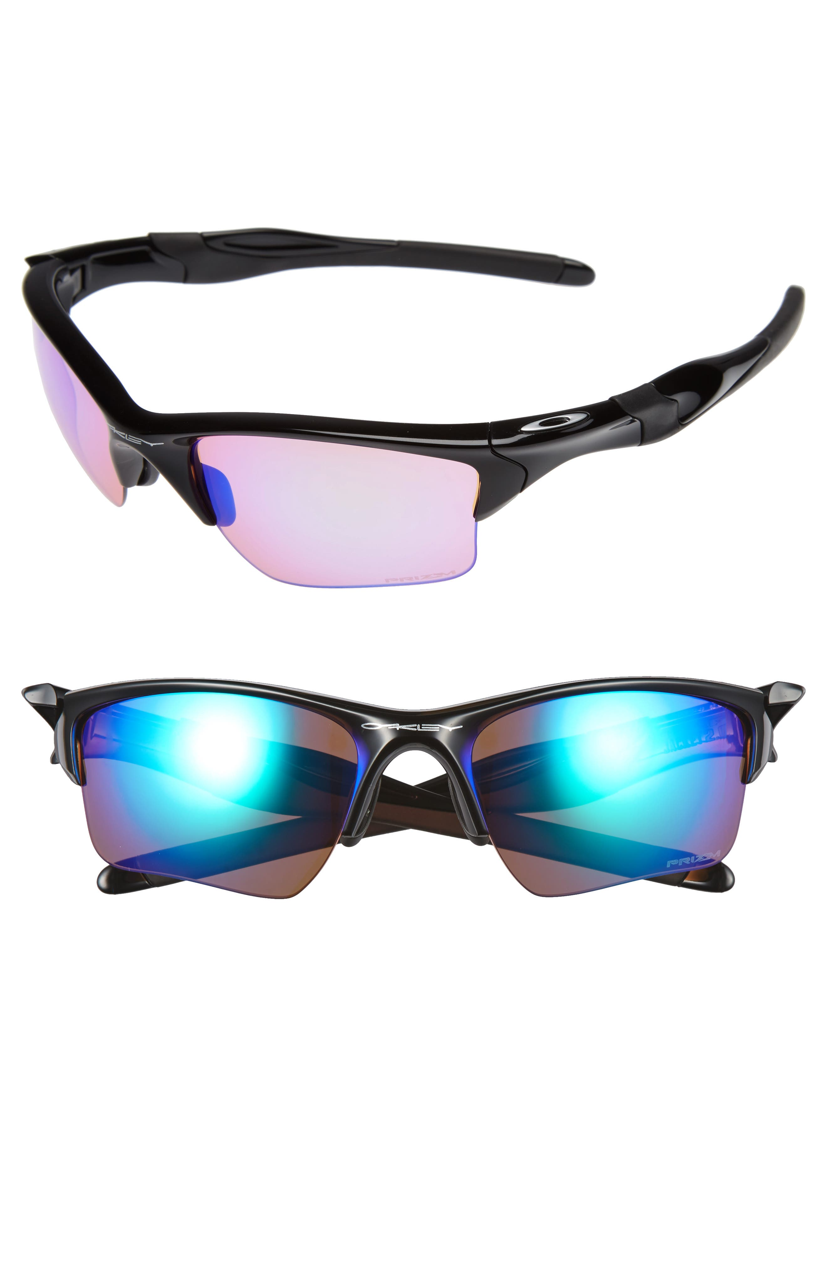 Half Jacket<sup>®</sup> 2.0 XL 62mm Sunglasses,                         Main,                         color, BLACK