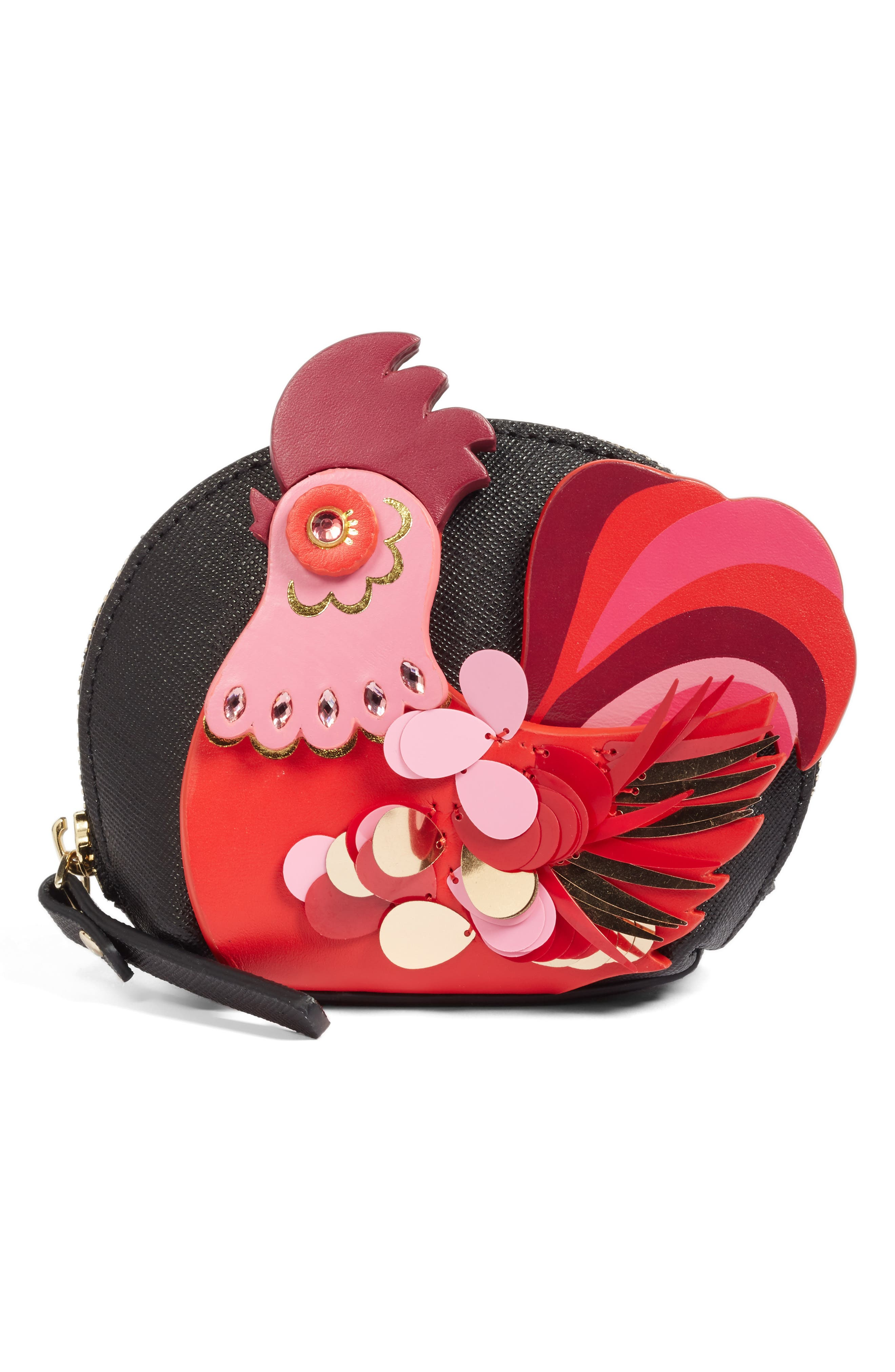 imagination rooster coin purse,                             Main thumbnail 1, color,                             974