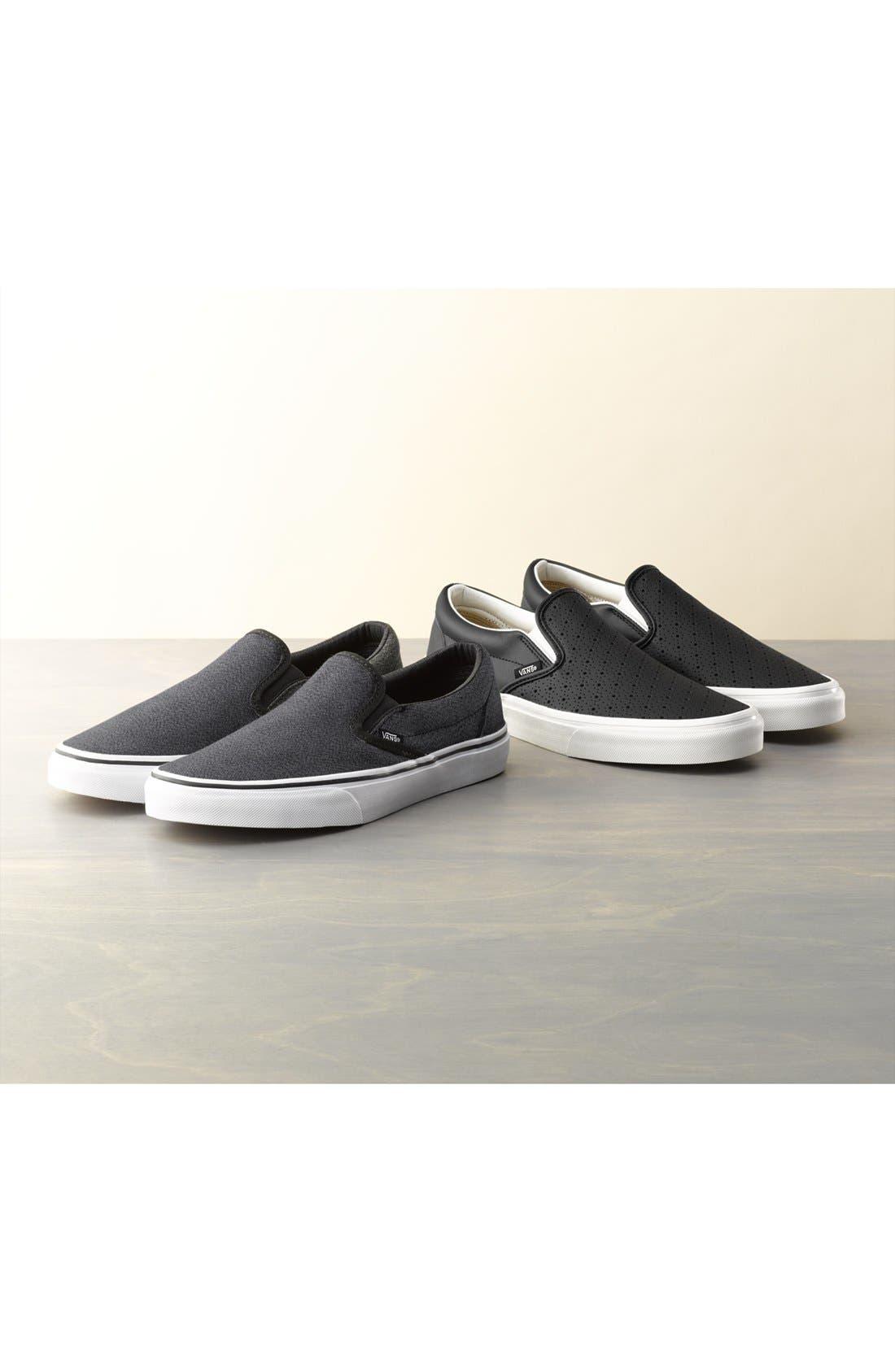 'Classic' Slip-On Sneaker,                             Main thumbnail 1, color,                             001