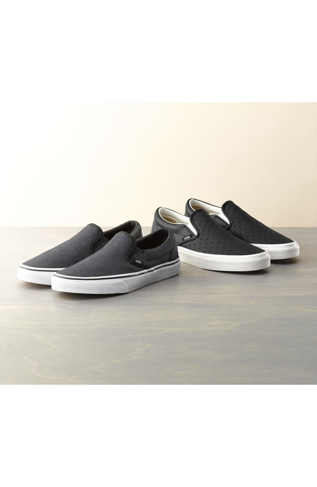 'Classic' Slip-On Sneaker,                         Main,                         color, 001
