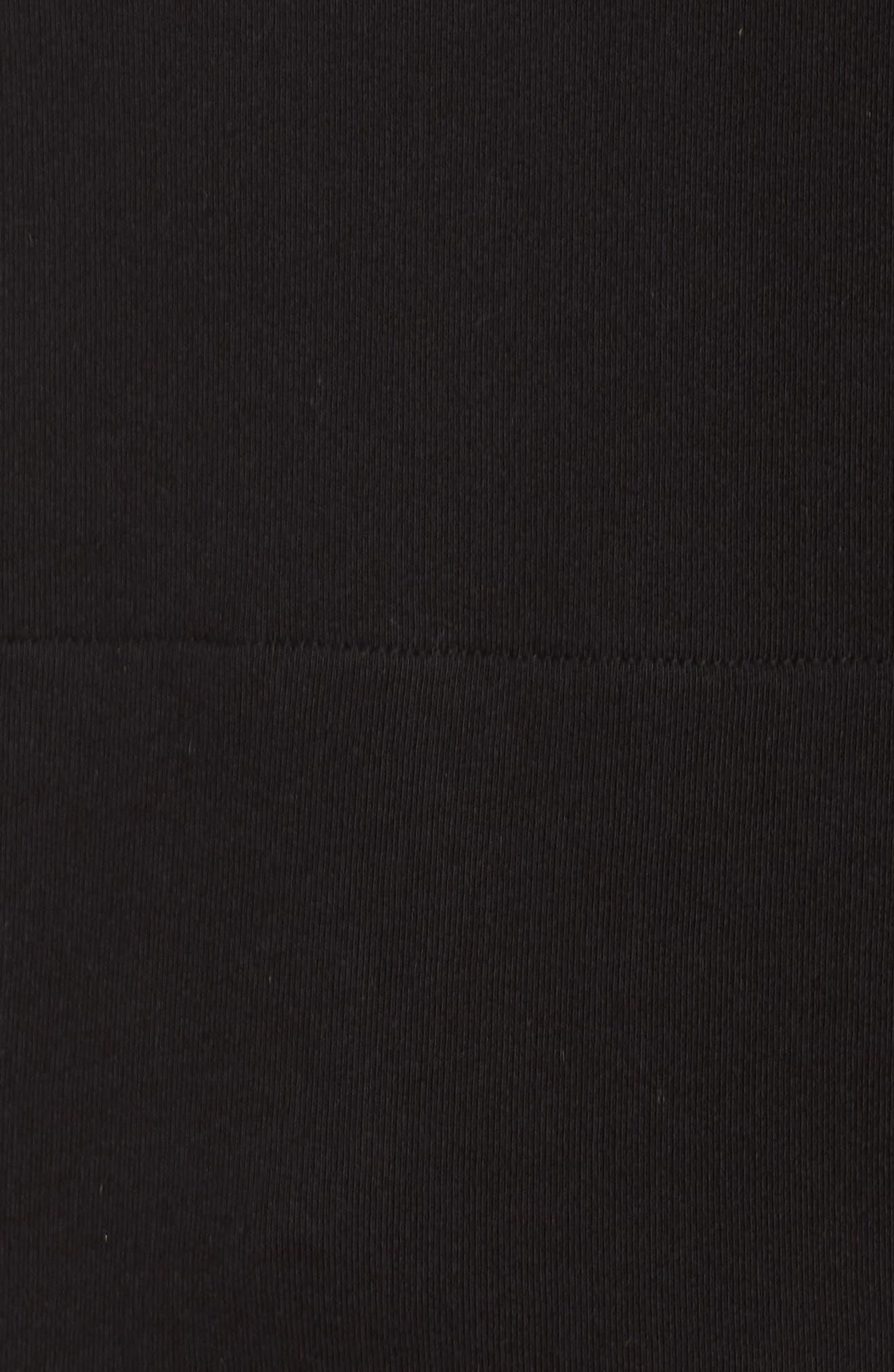 Shift Hoodie Sweatshirt,                             Alternate thumbnail 6, color,                             BLACK/ CHECKER