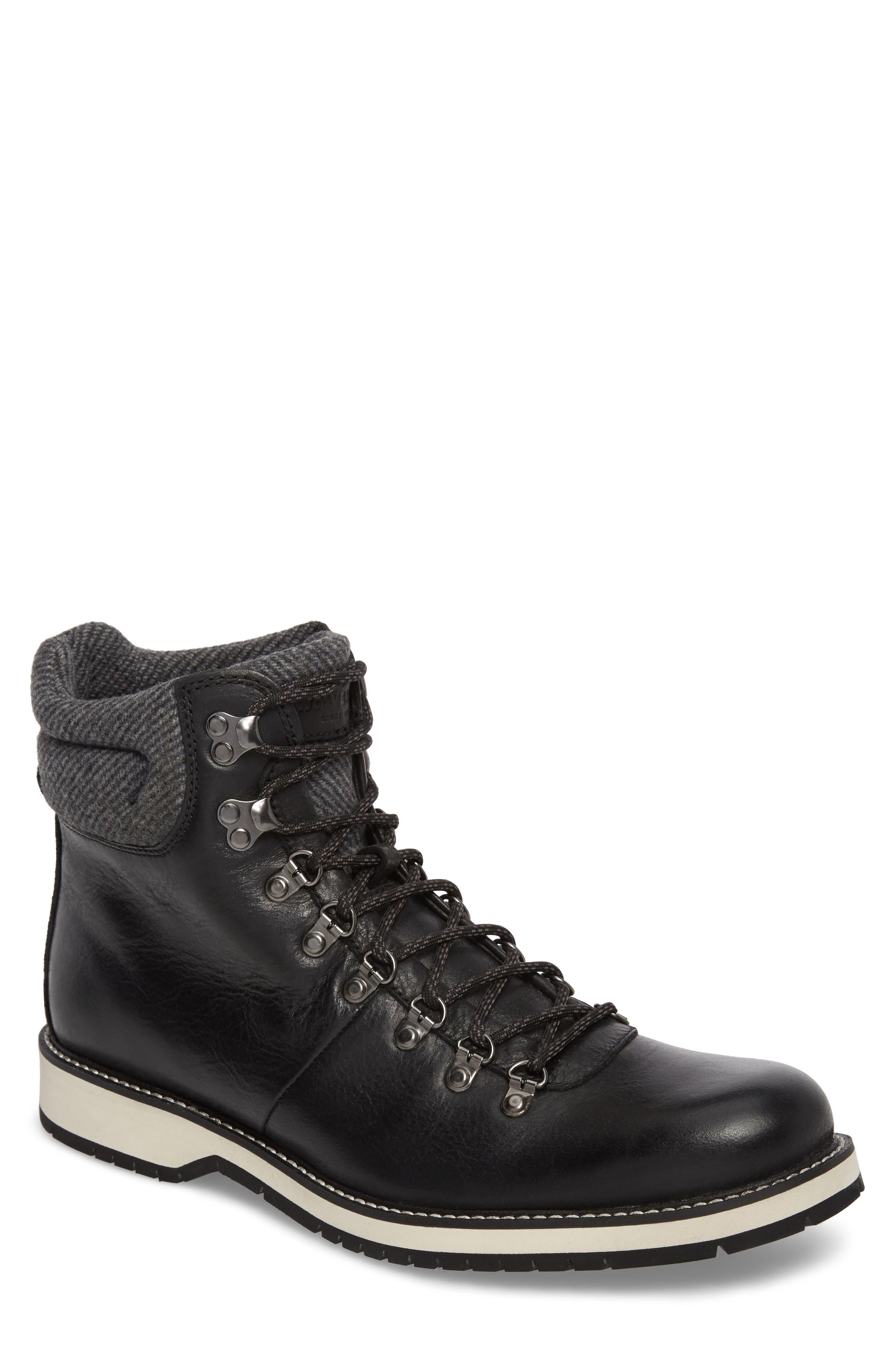Sidney Waterproof Plain Toe Boot,                         Main,                         color, 001