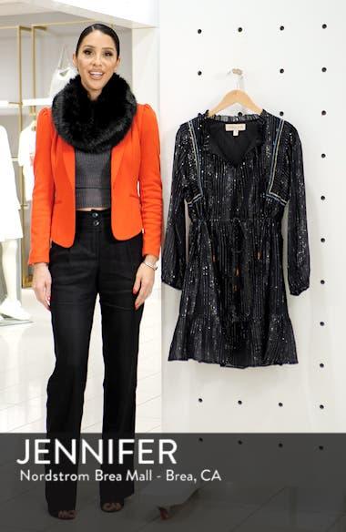 Ruffled Drawstring Waist Dress, sales video thumbnail