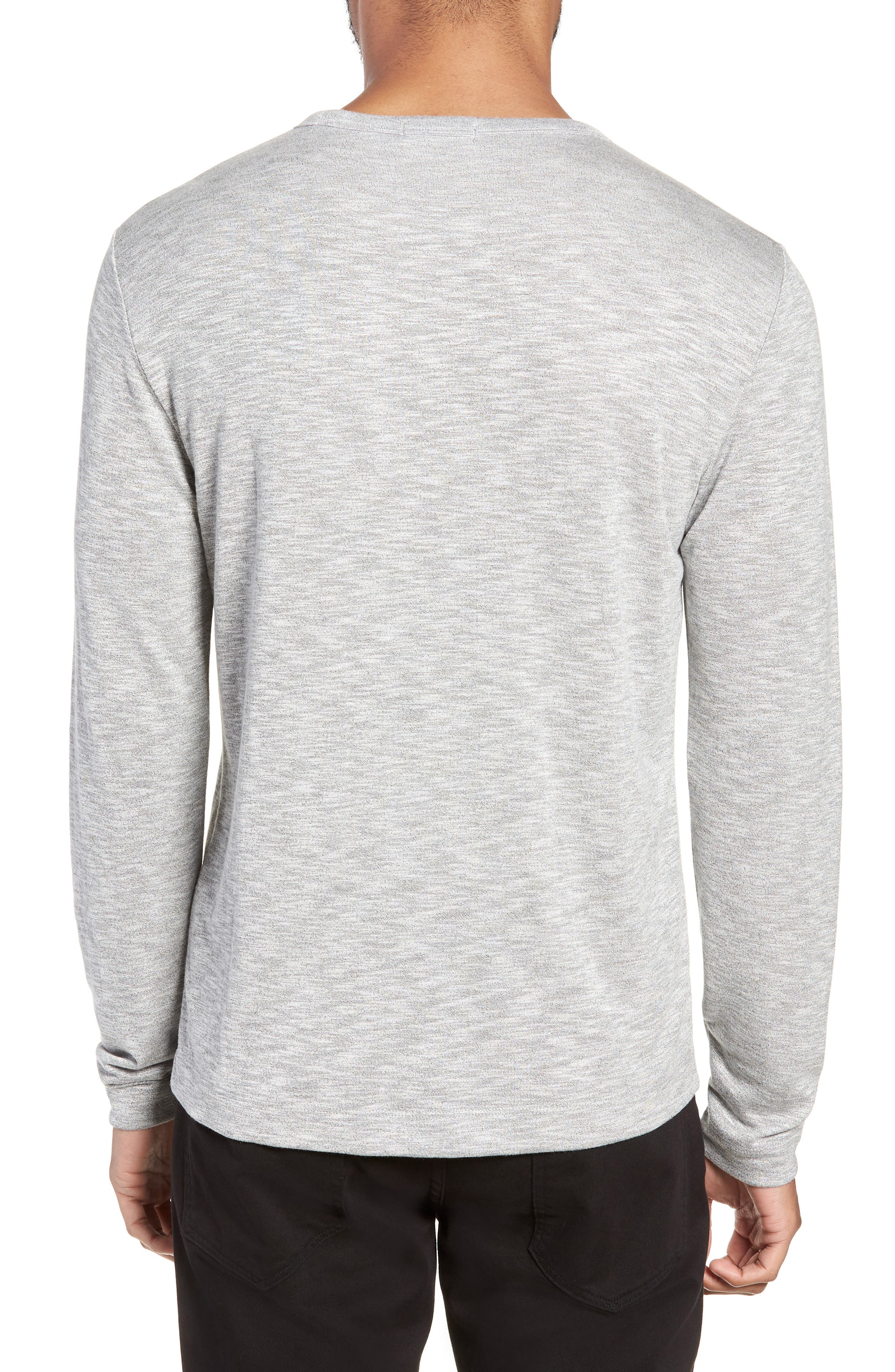 Gaskell Regular Fit Long Sleeve T-Shirt,                             Alternate thumbnail 2, color,                             GREY MULTI