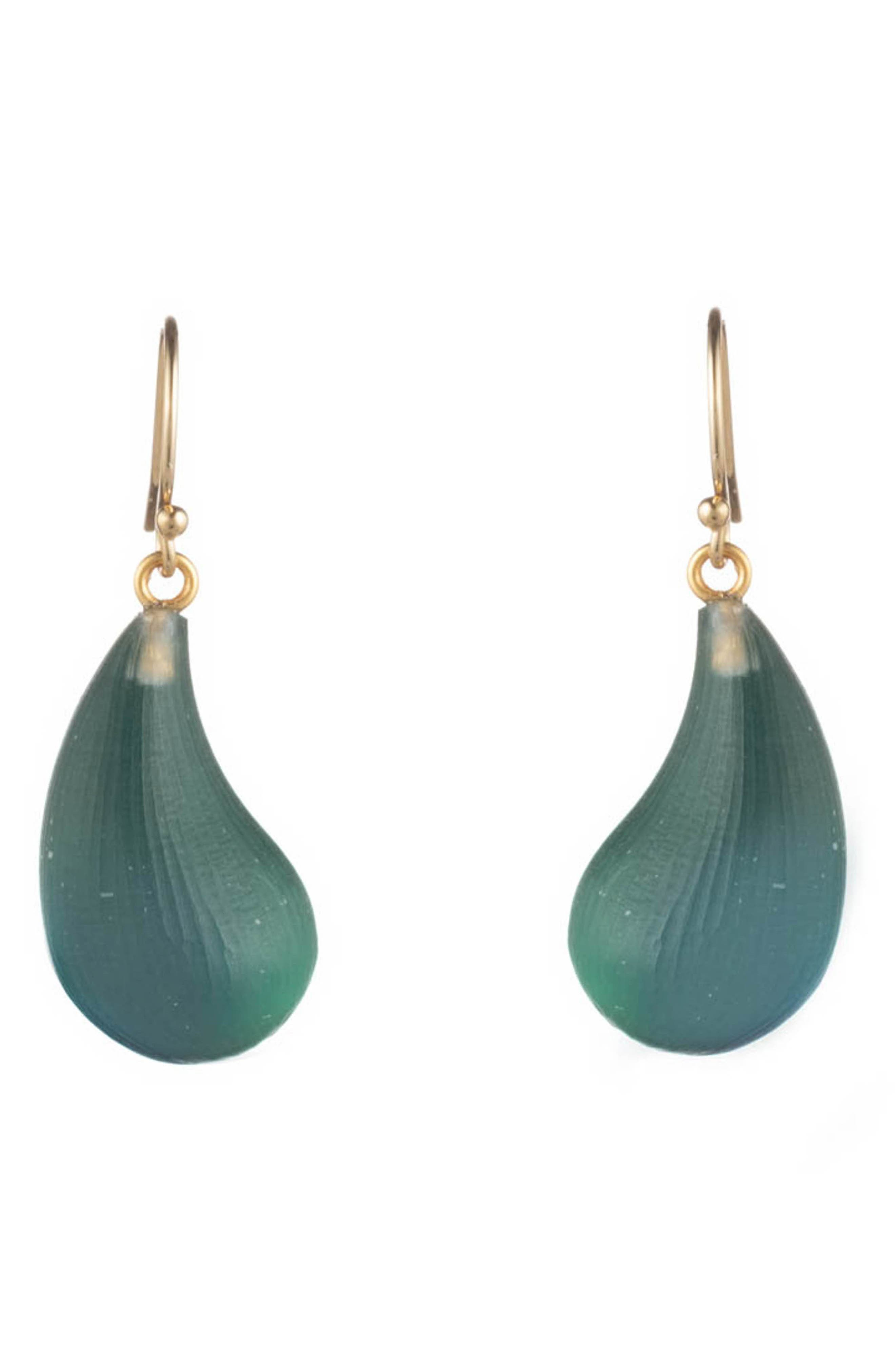 Alexis Bittar  'LUCITE - DEWDROP' EARRINGS