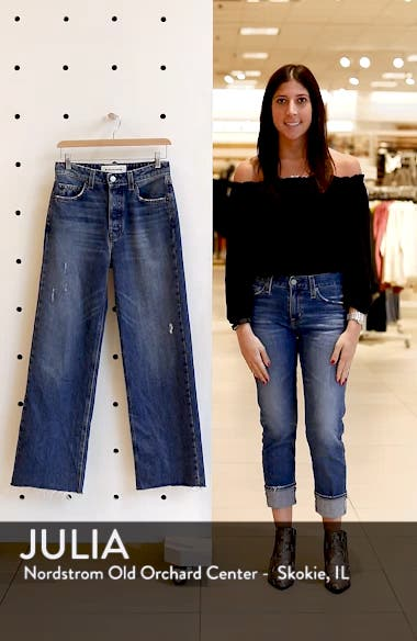 Fawcett High Waist Crop Jeans, sales video thumbnail