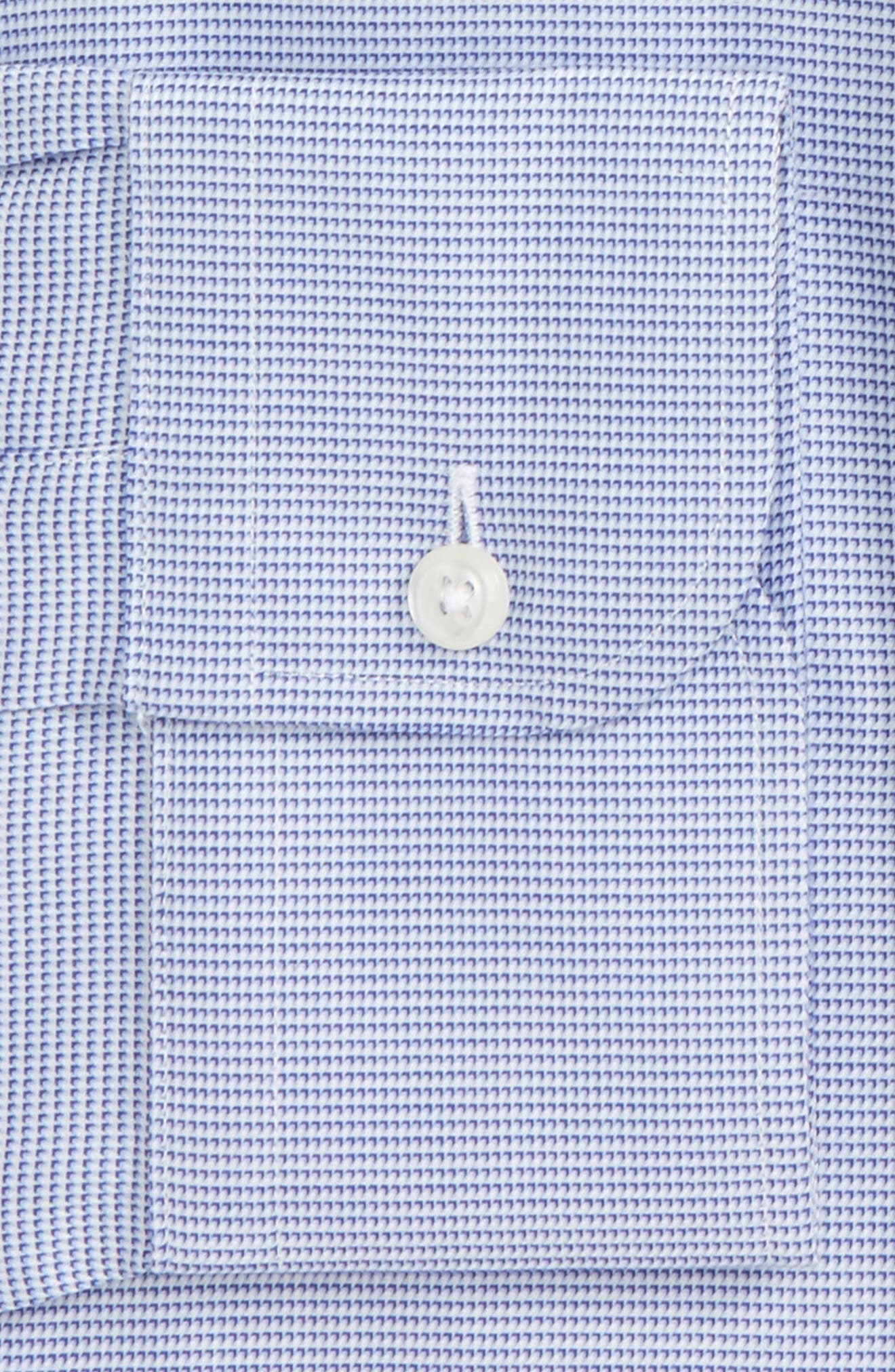 Classic Fit Solid Dress Shirt,                             Alternate thumbnail 2, color,                             420