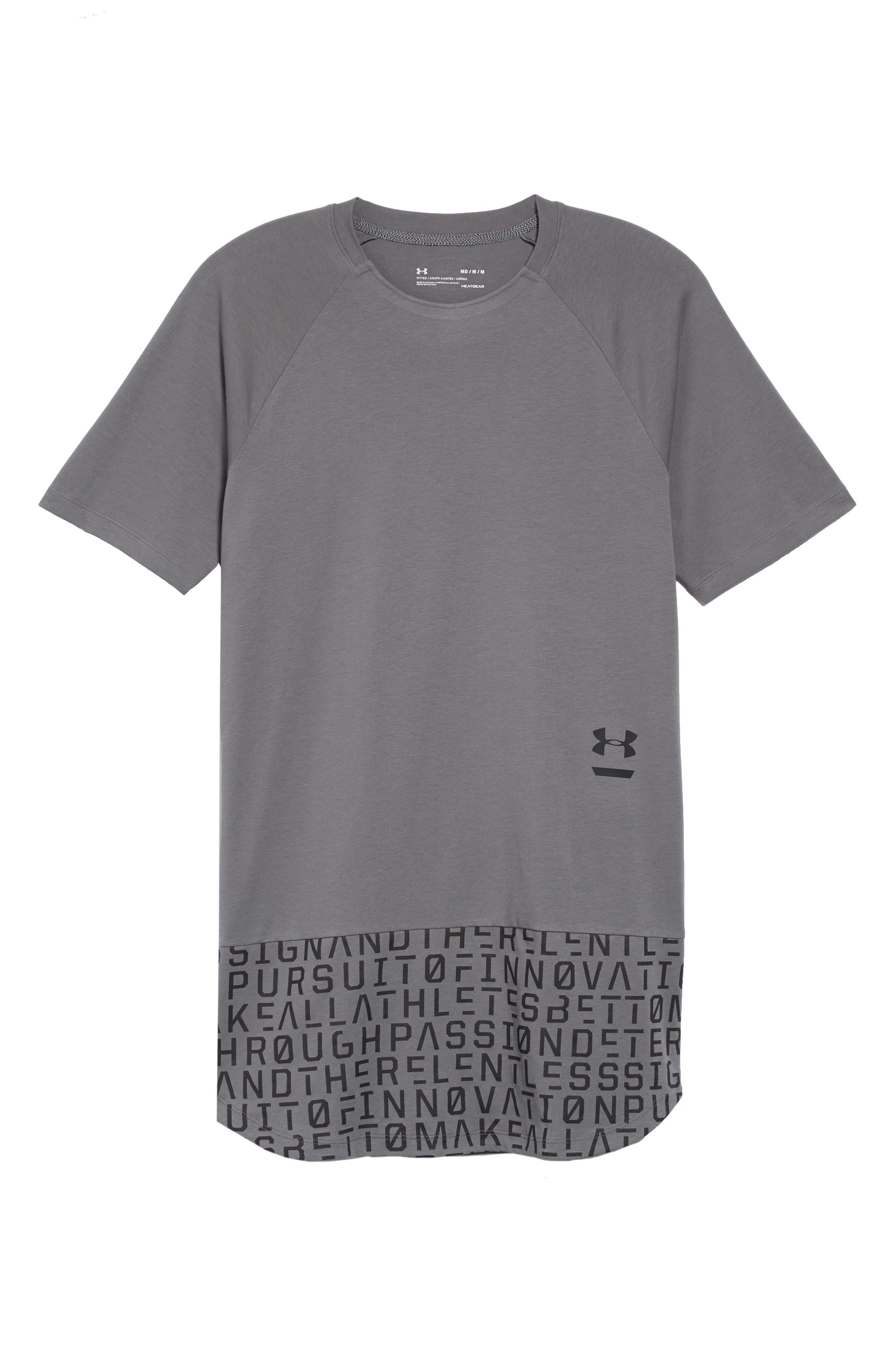Perpetual Graphic T-Shirt,                             Alternate thumbnail 6, color,                             GRAPHITE