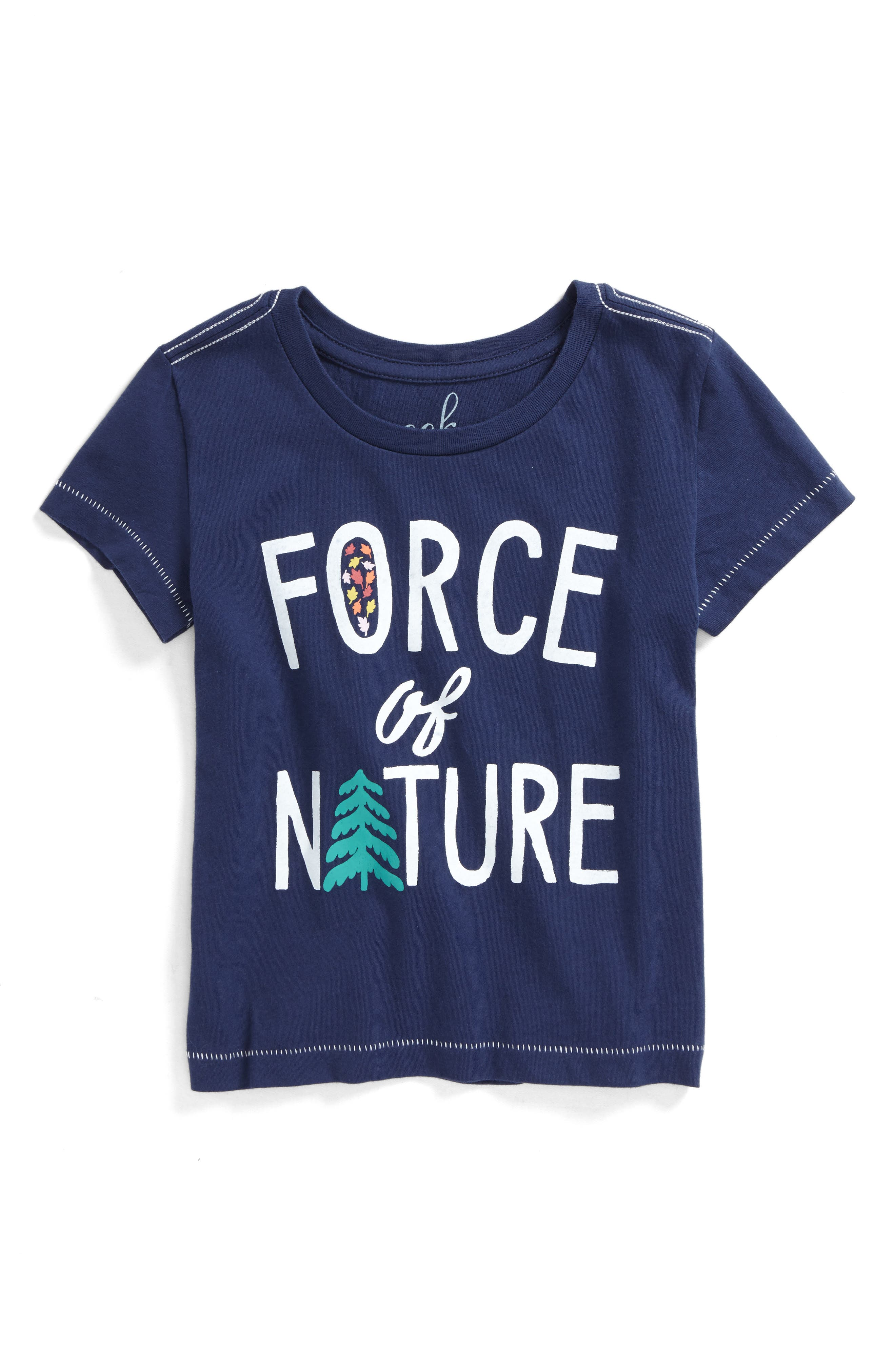 Force of Nature Graphic Tee,                             Main thumbnail 1, color,                             410
