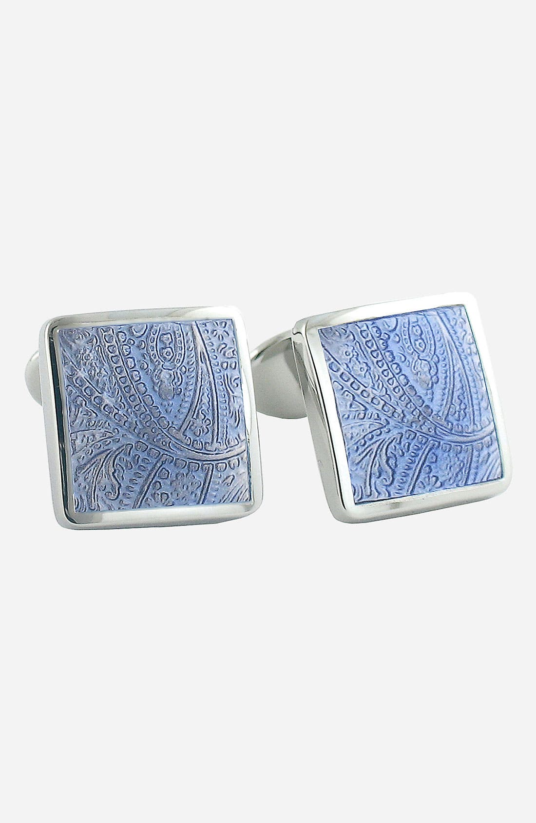 Sterling Silver Cuff Links,                             Main thumbnail 1, color,                             401