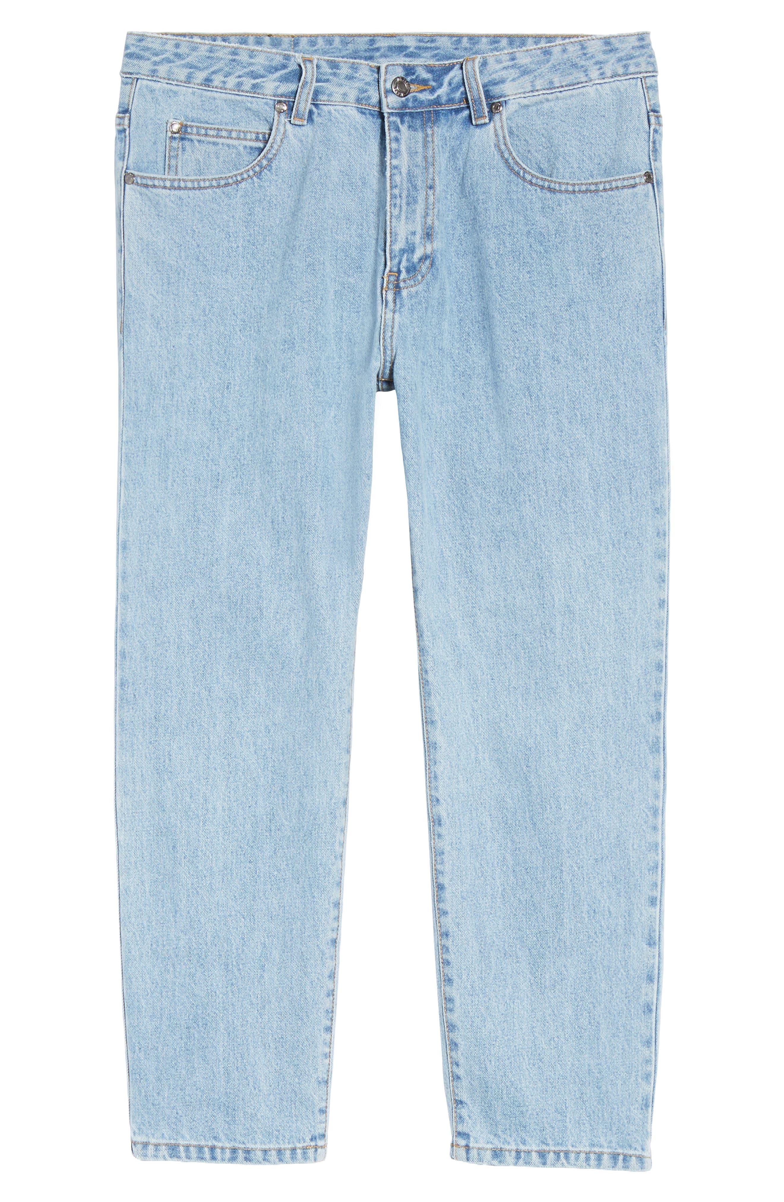 Otis Straight Fit Jeans,                             Alternate thumbnail 6, color,                             400