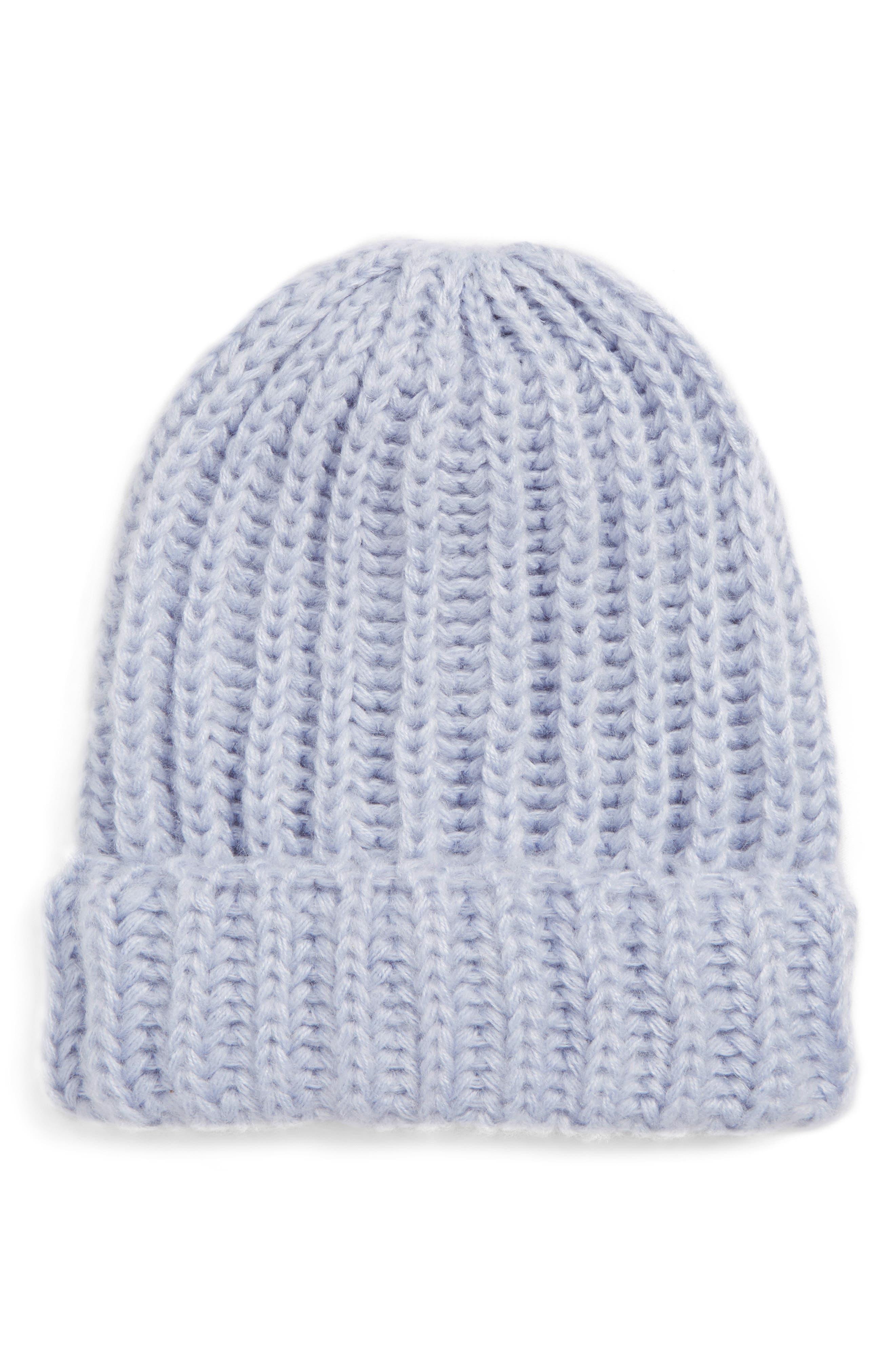 Fuzzy Knit Beanie,                             Main thumbnail 1, color,                             400