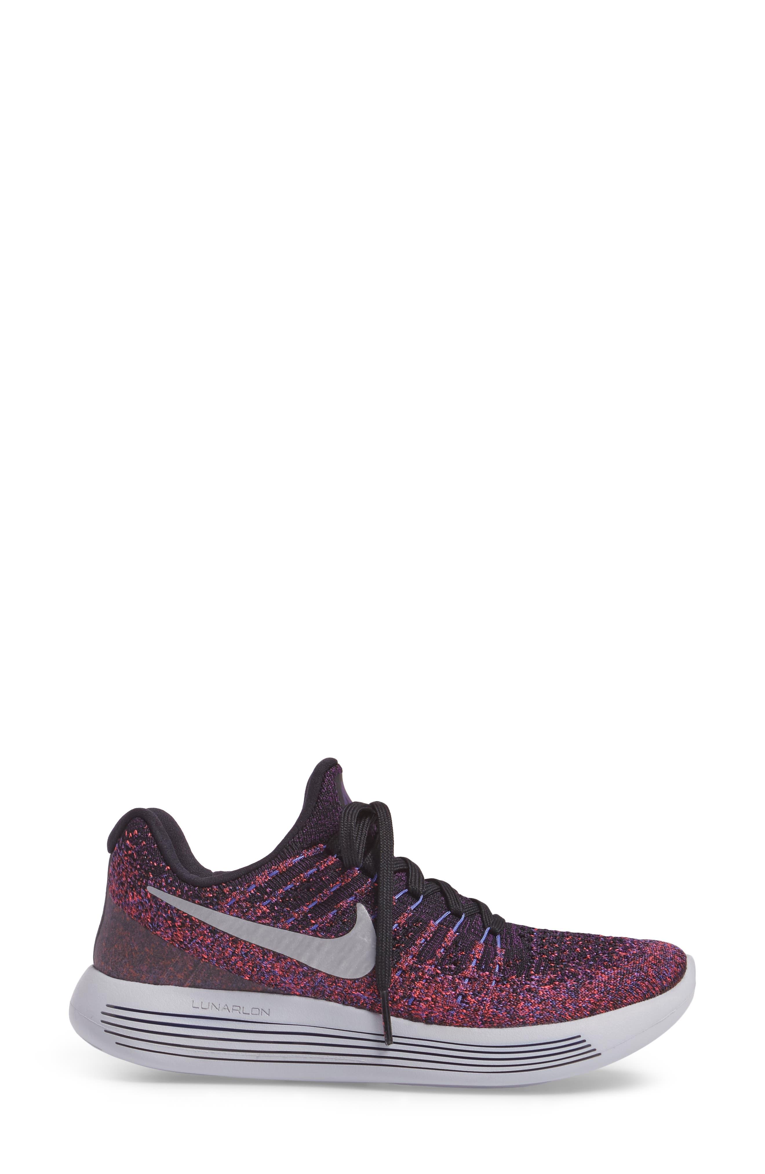 LunarEpic Low Flyknit 2 Running Shoe,                             Alternate thumbnail 48, color,